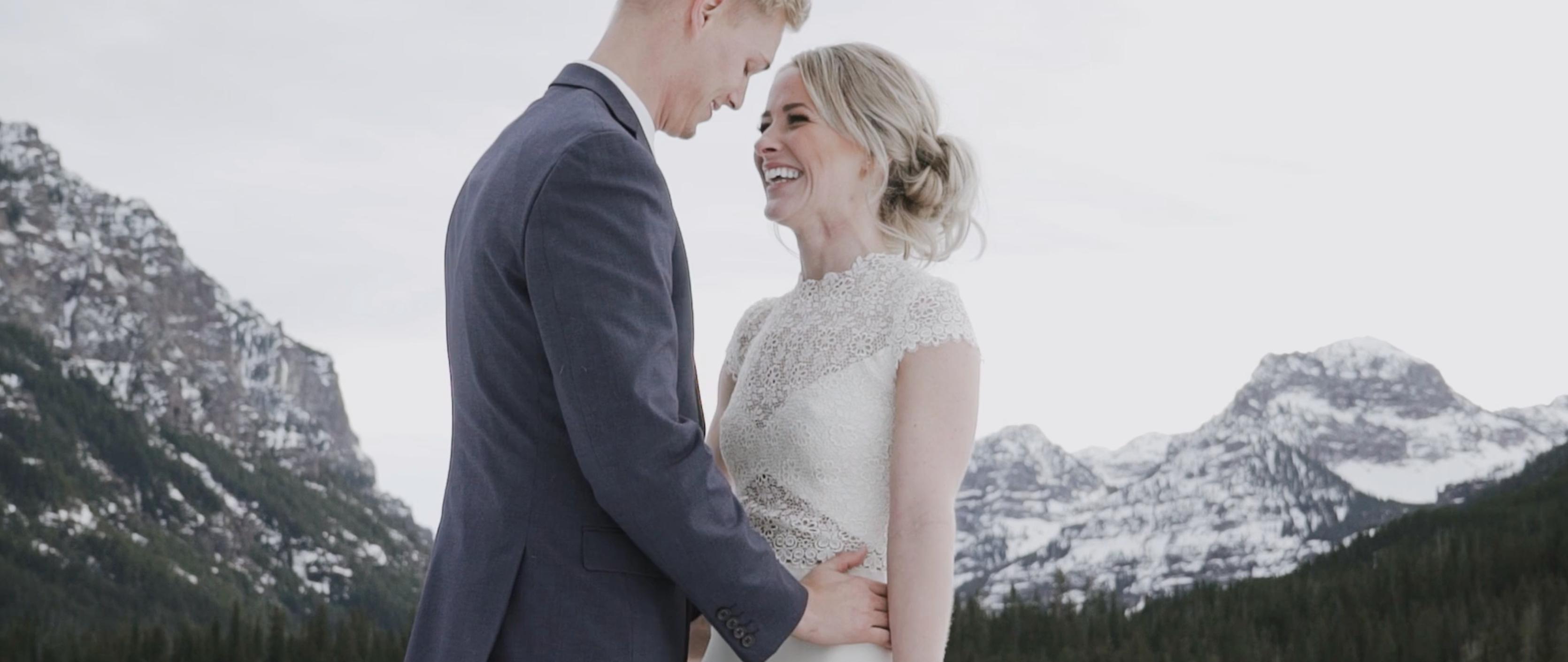 Austin + Sarah | Bozeman, Montana | Hyalite Canyon