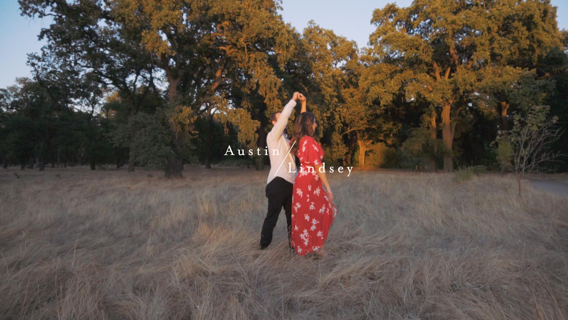 Austin + Lindsey | Ripon, California | Park