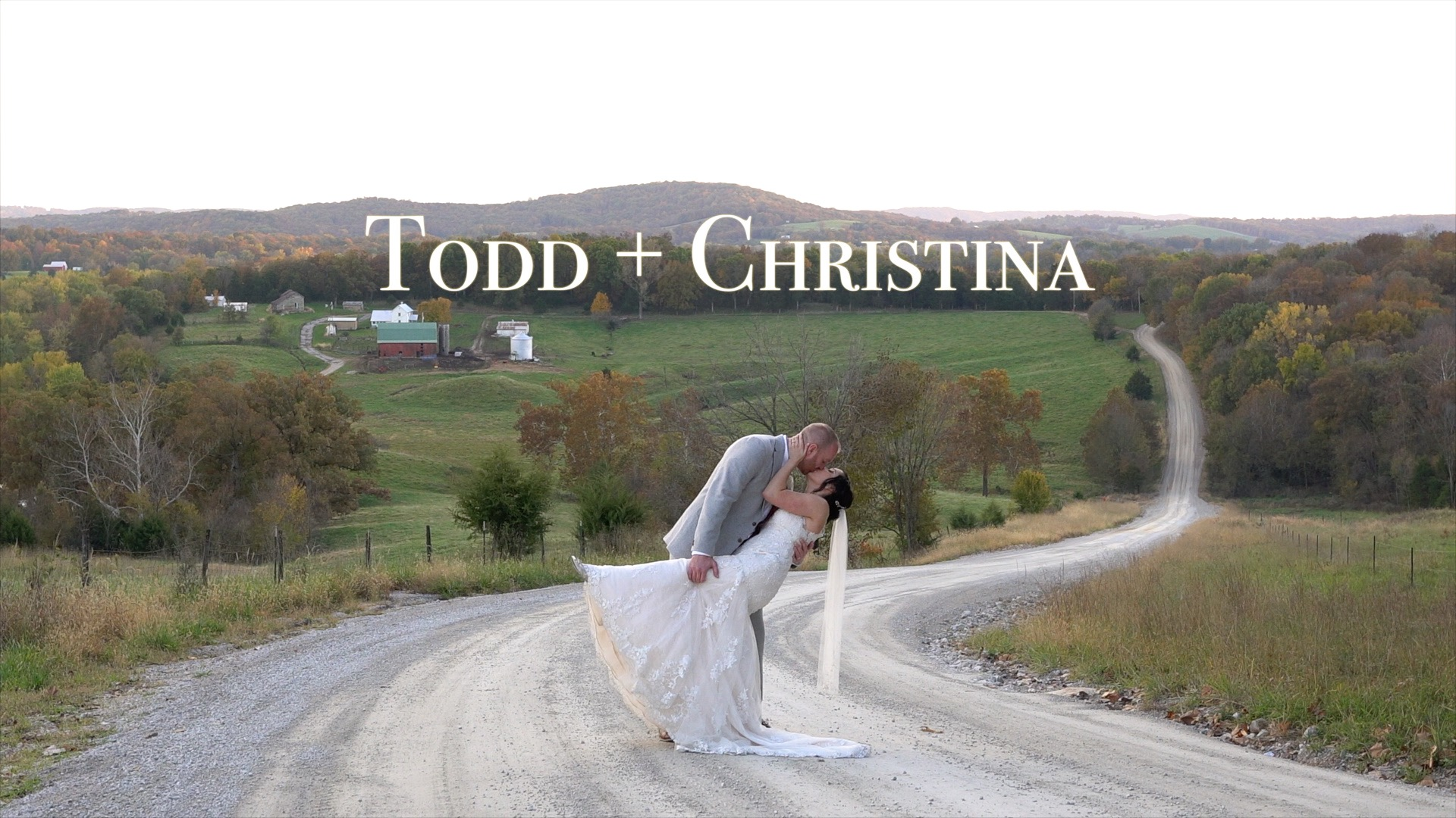Todd + Christina | Hermann, Missouri | Little Piney Loge