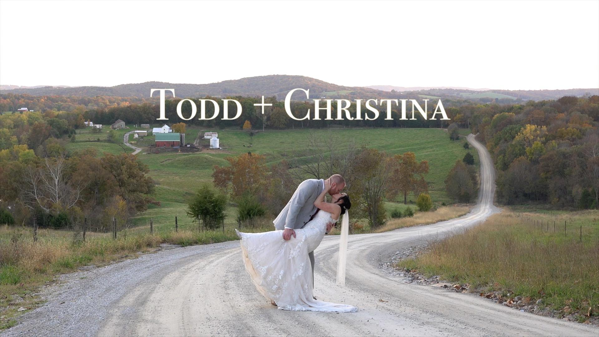 Todd + Christina | Hermann, Missouri | Little Piney Loge