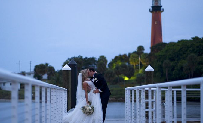 Ashley + Austin | Jupiter, Florida | The Pelican Club