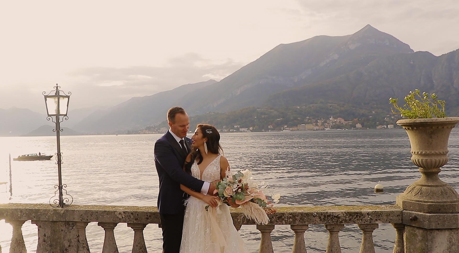 Sahar + Ken | Tremezzina, Italy | Grand Hotel Tremezzo