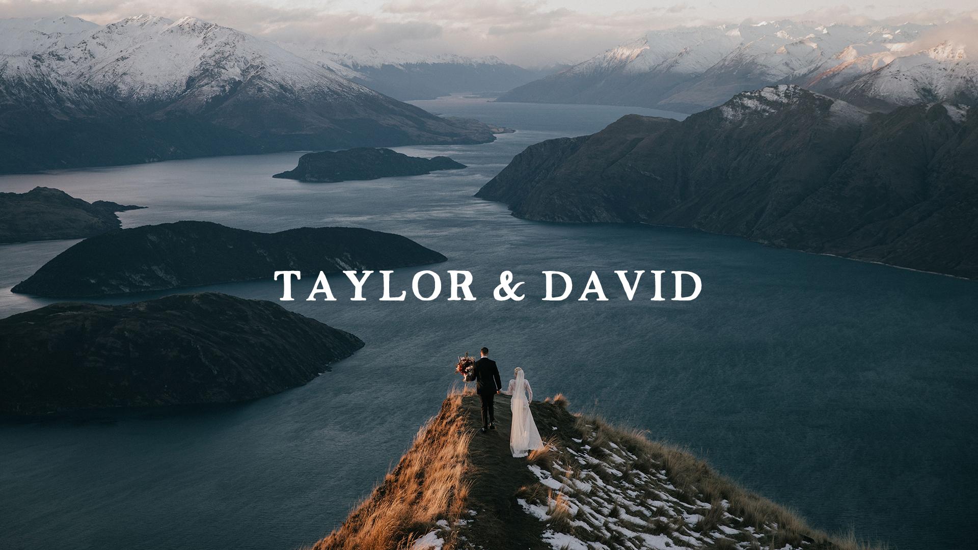 Taylor + David | Wanaka, New Zealand | Coromandel Peak