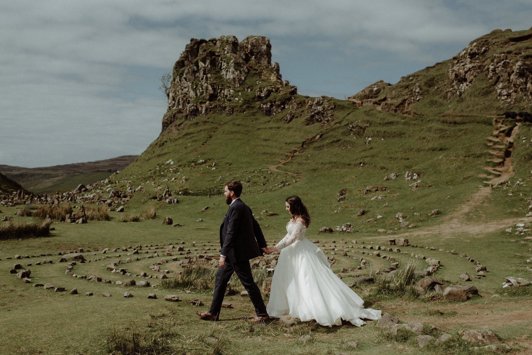 Caitlin + Jonathan | Sconser, United Kingdom | The Fairy Glen