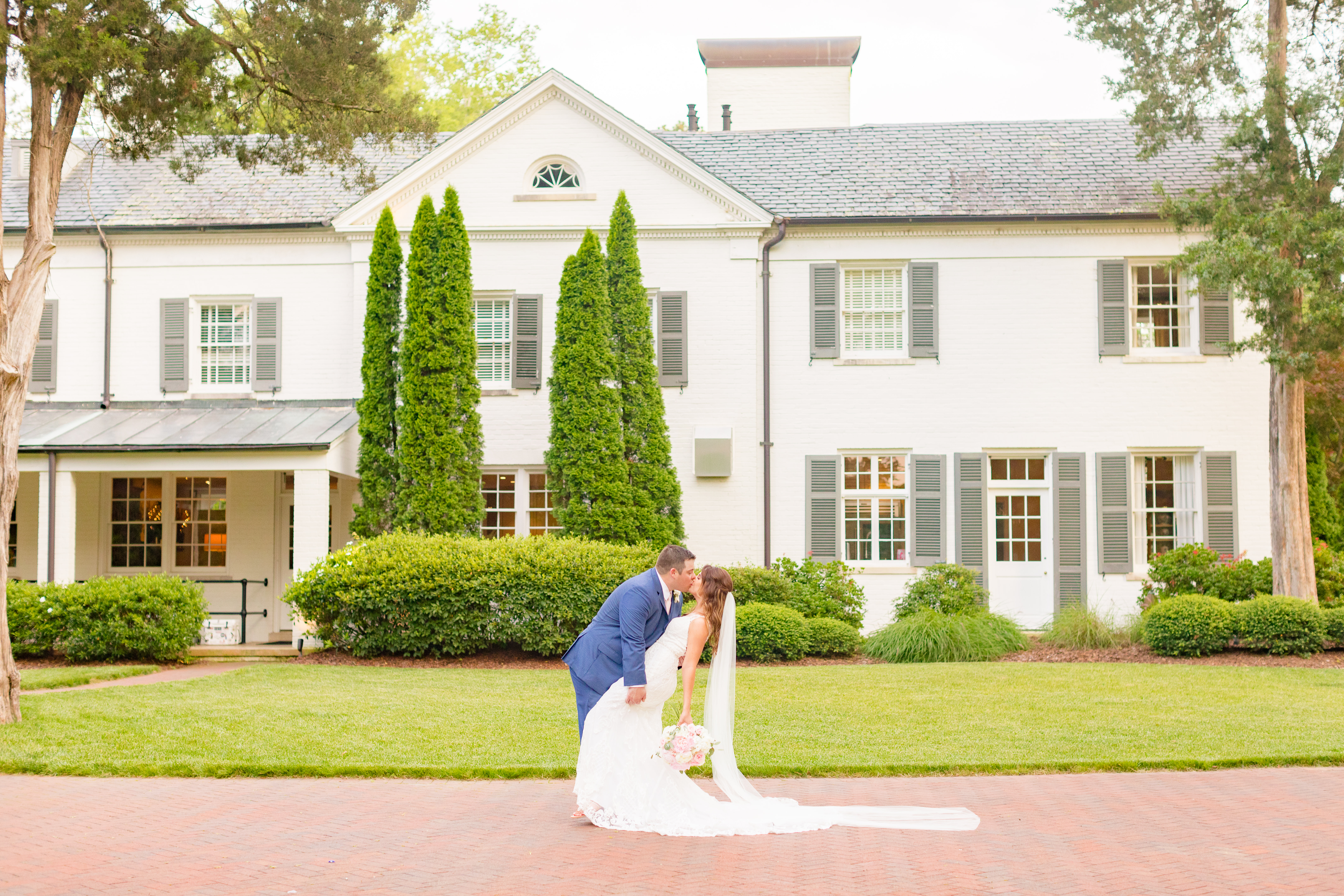 Emily + Austin | Mocksville, North Carolina | The Boxwood Estate