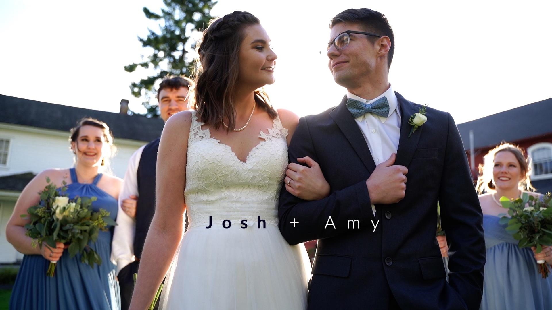 Josh + Amy | Salem, Oregon | Willamette Heritage Center