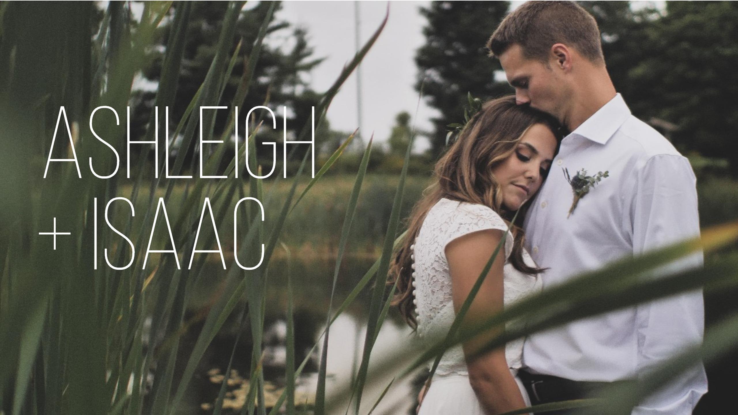 Ashleigh + Isaac | Cavan, Canada | Backyard