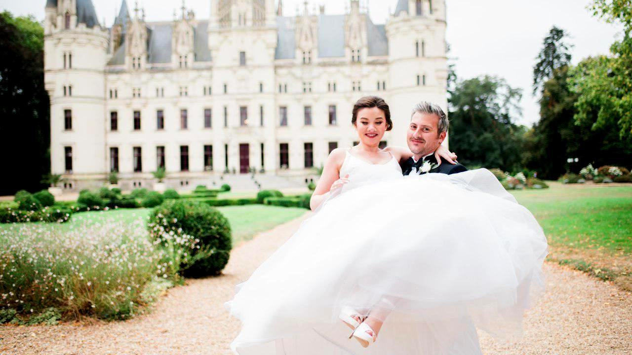 Jennine + Marc | Paris, France | Chateau de Challain