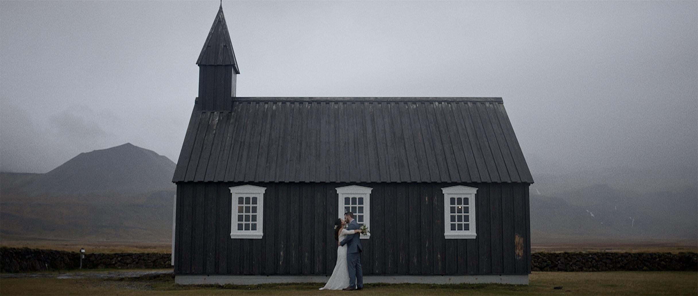 Anna + Dane | Búðir, Iceland | Budir Church