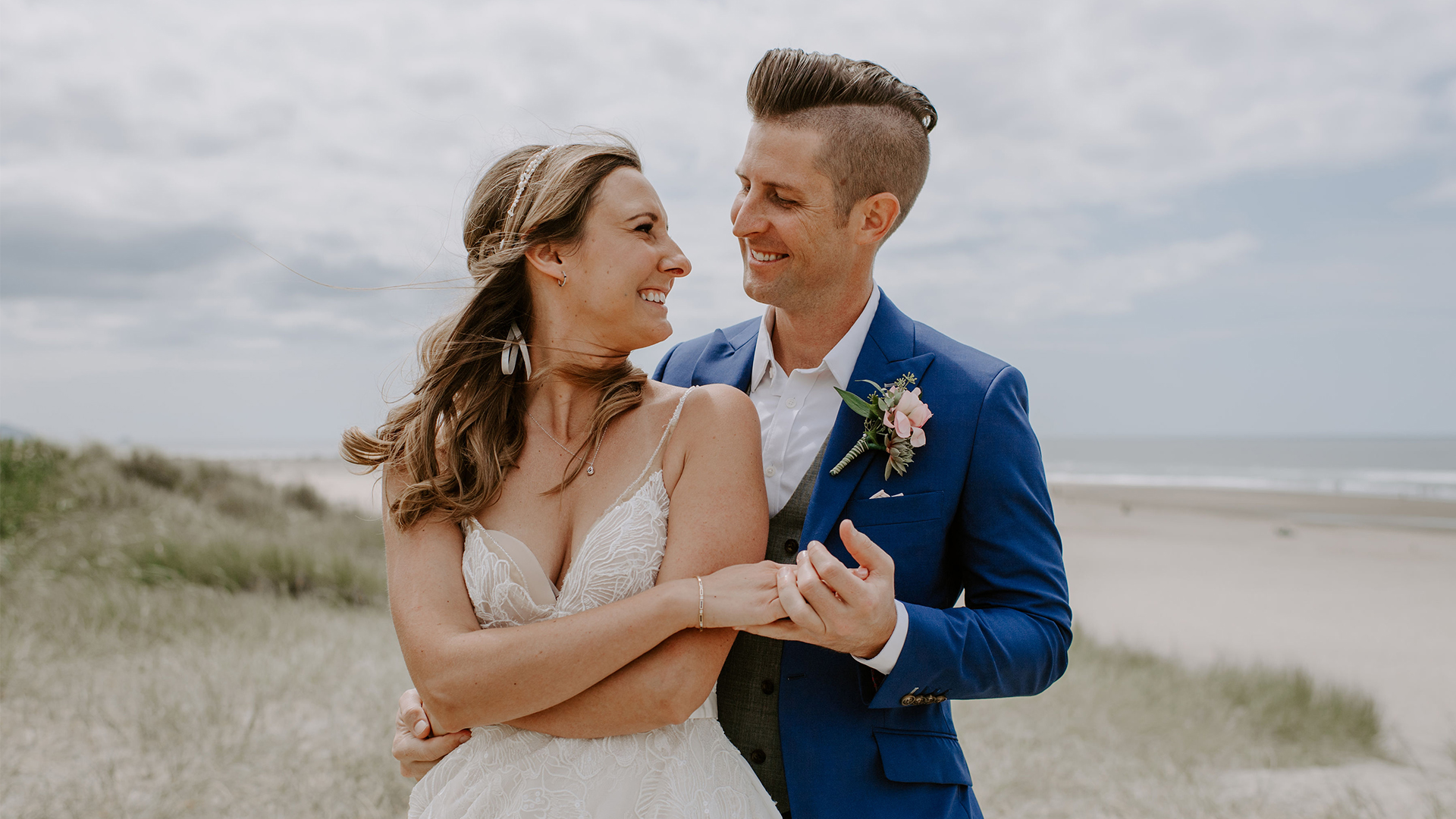 Cori + Adam | Cannon Beach, Oregon | Surfsand Resort