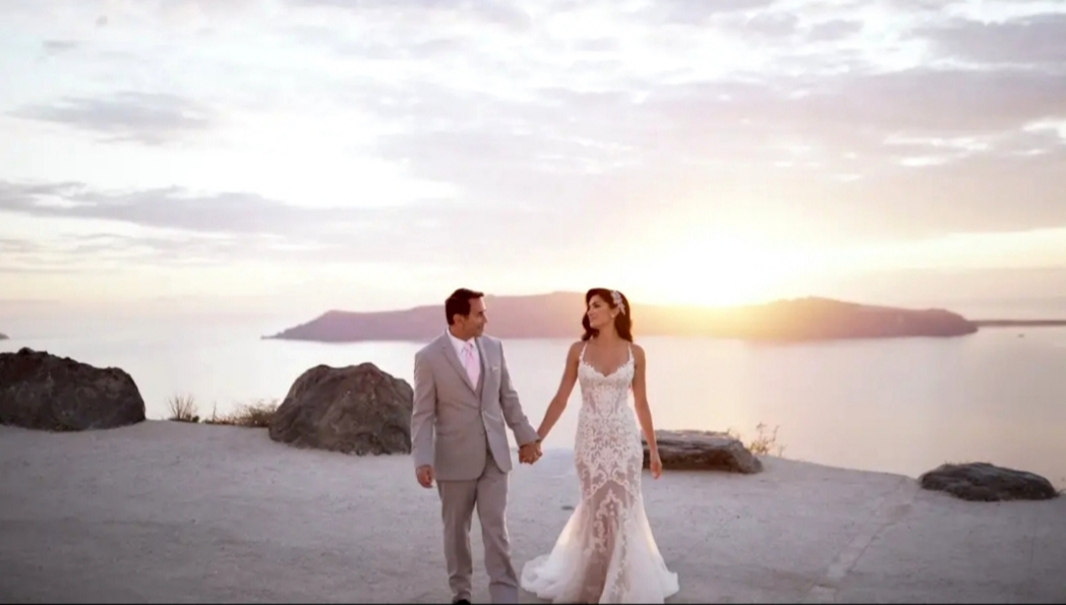 Dr Paul Nassif + Brittany Pattakos | Thera, Greece | Rocabella Santorini