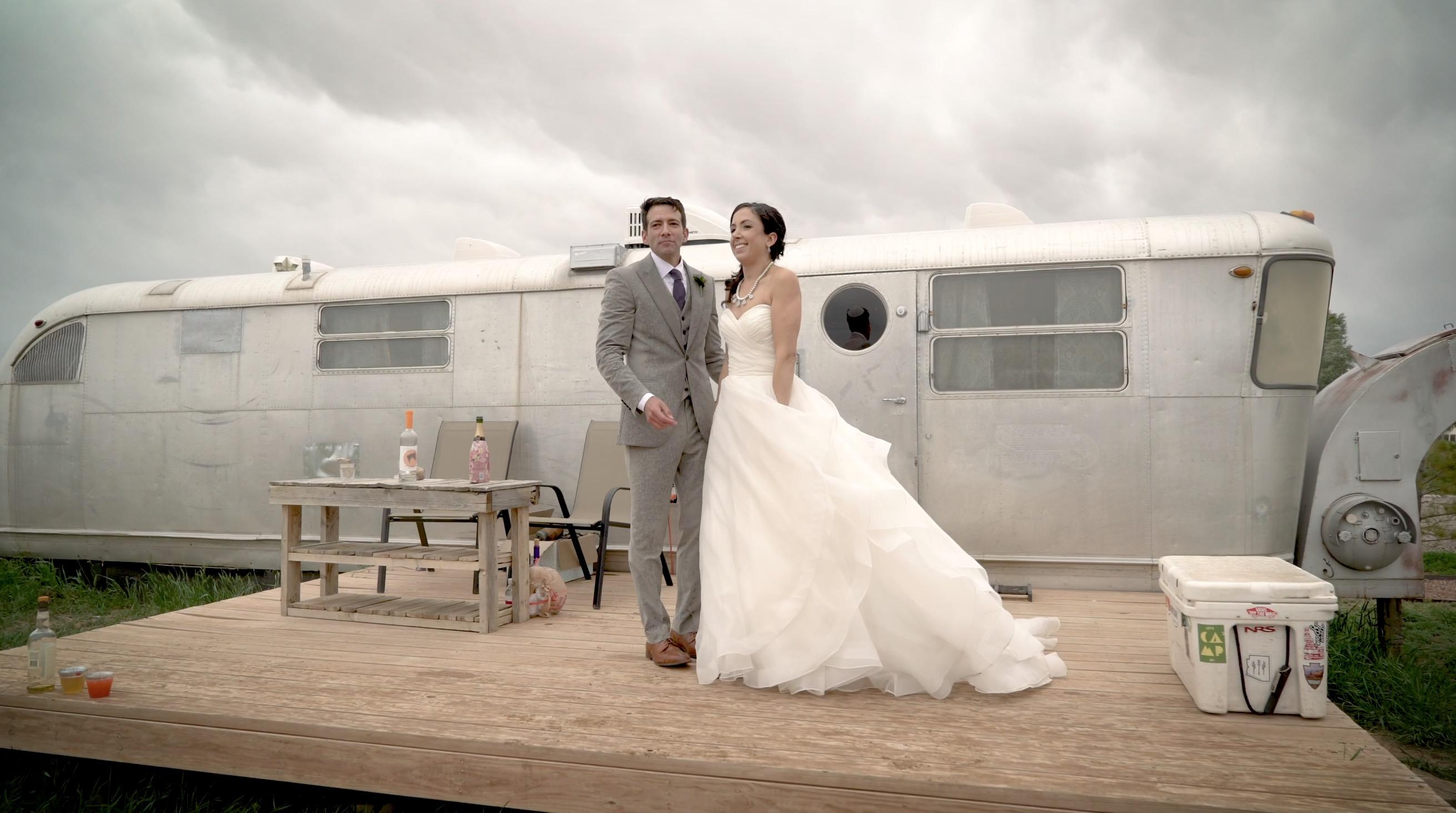 Amanda + Eitan | Taos, New Mexico | Taos Mesa Brewery