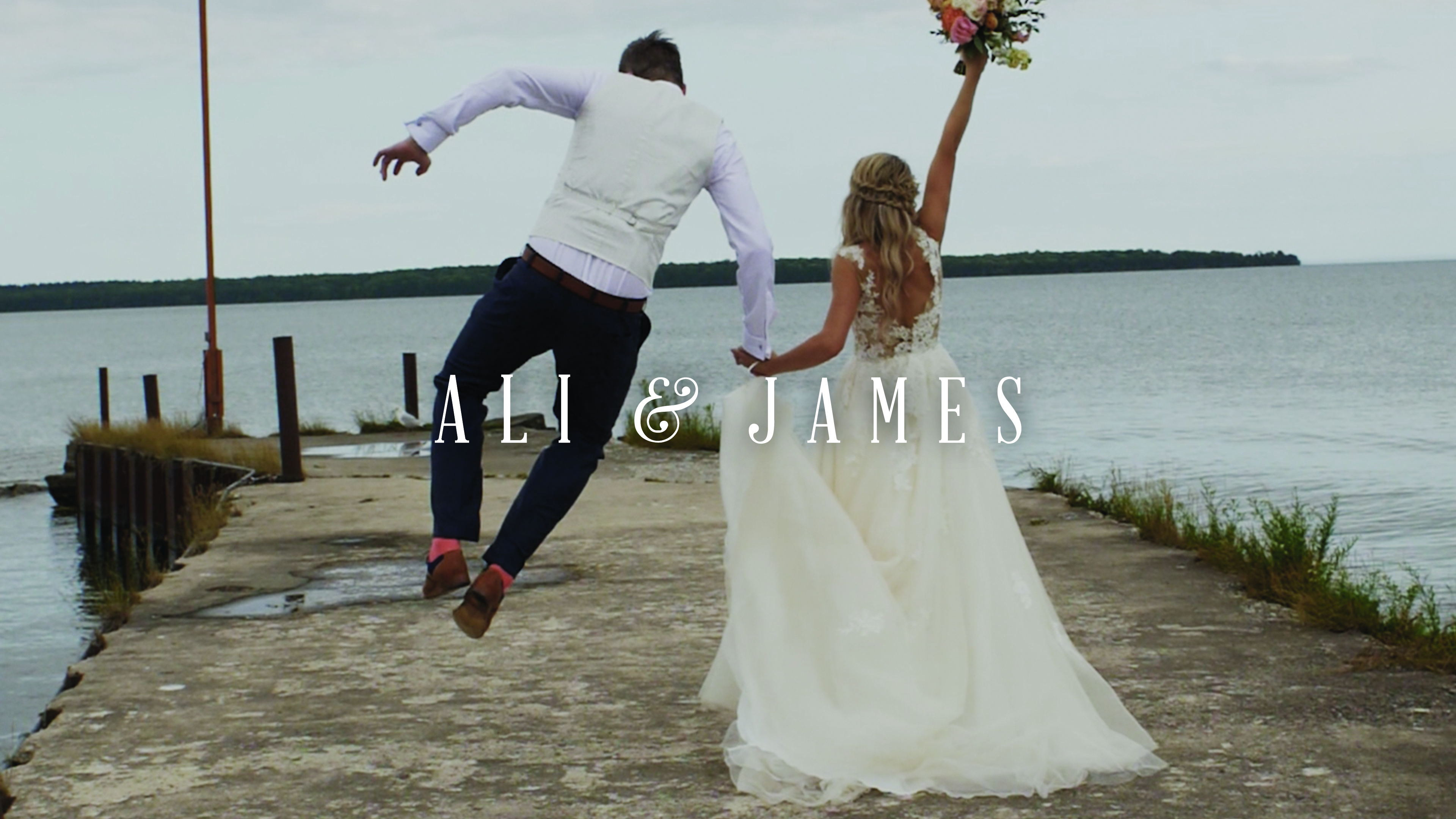 Ali + James | Sister Bay, Wisconsin | Garden Gables, Sister Bay
