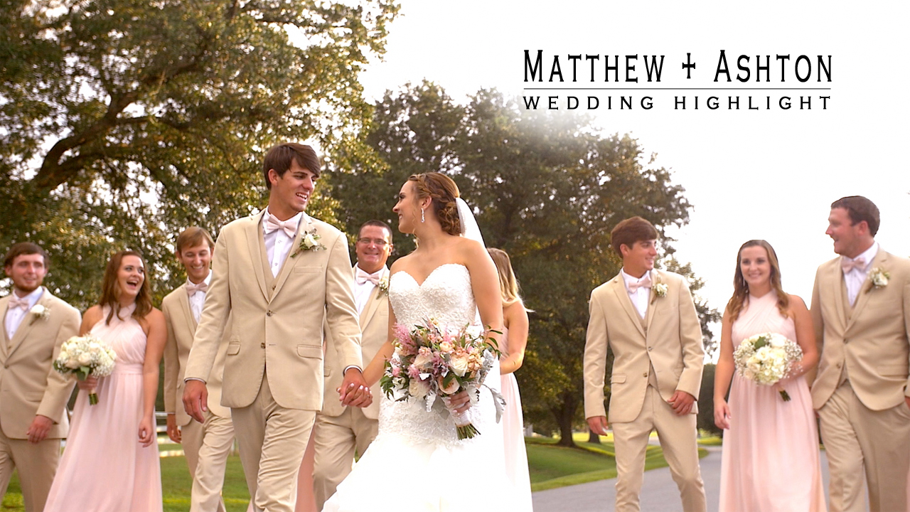 Matthew + Ashton | Greenville, North Carolina | Rock Springs Center