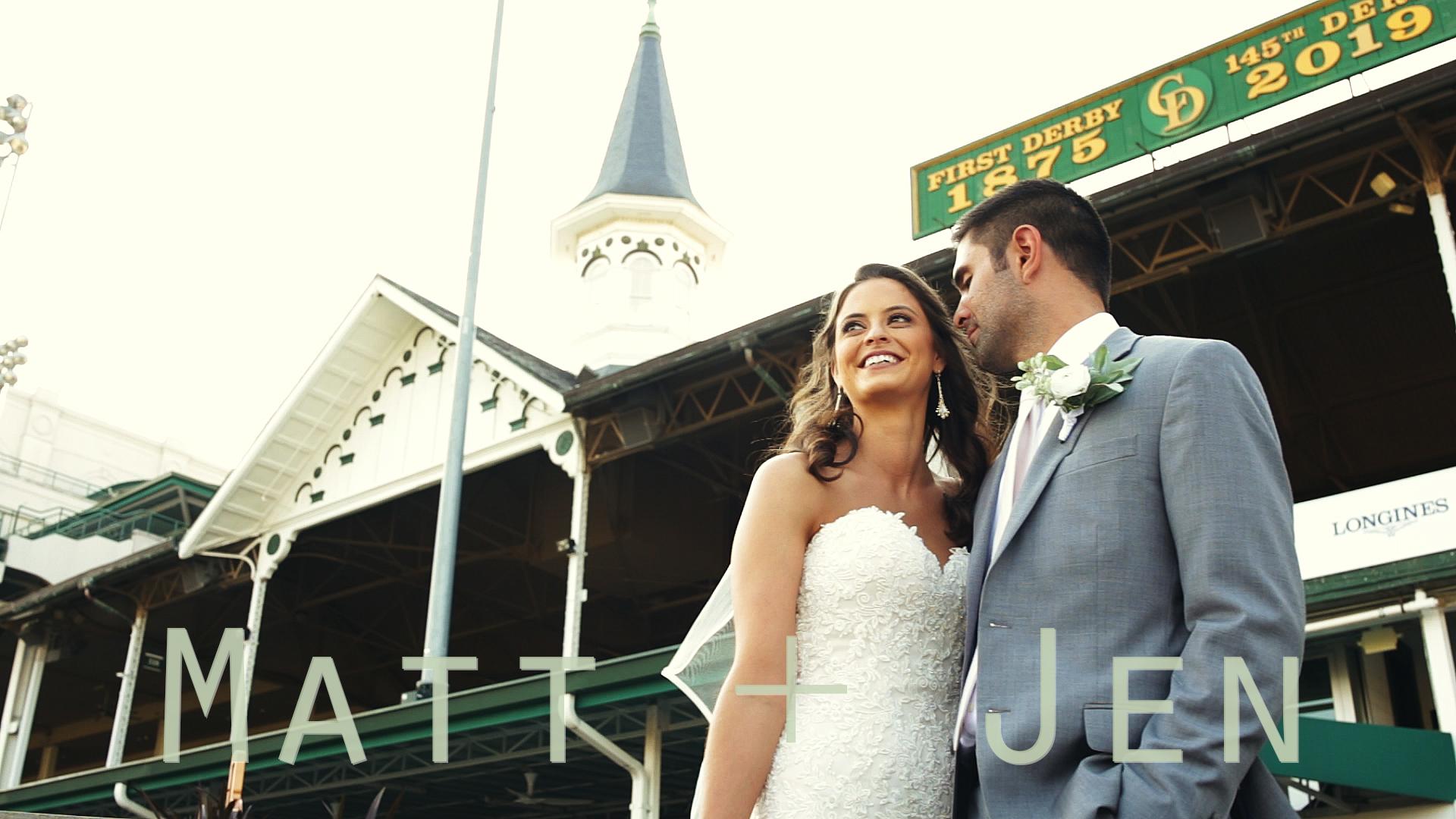 Matt + Jen | Louisville, Kentucky | Kentucky Derby Museum