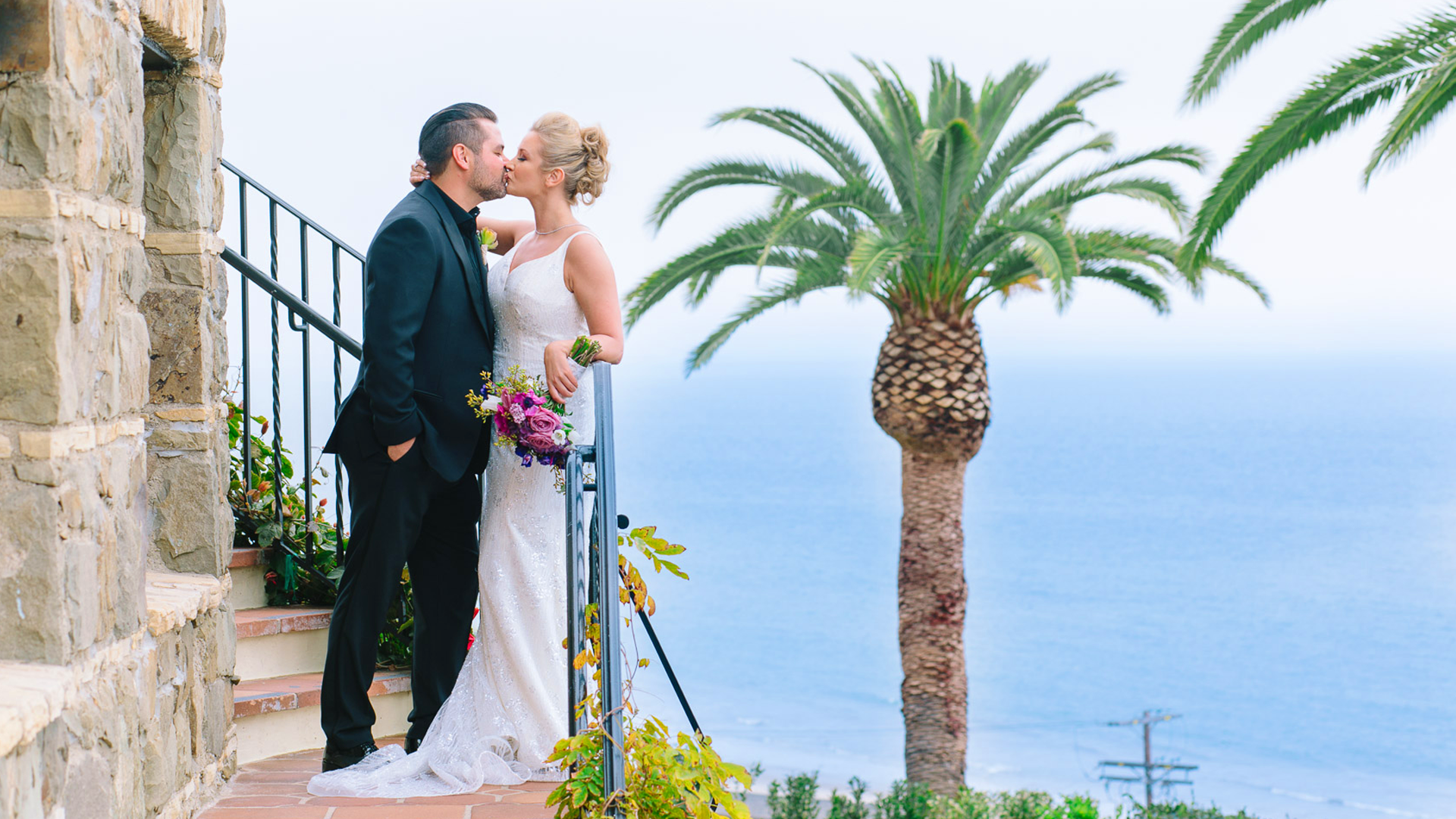 Brent + Samantha | Santa Monica, California | BelAir Bay Club