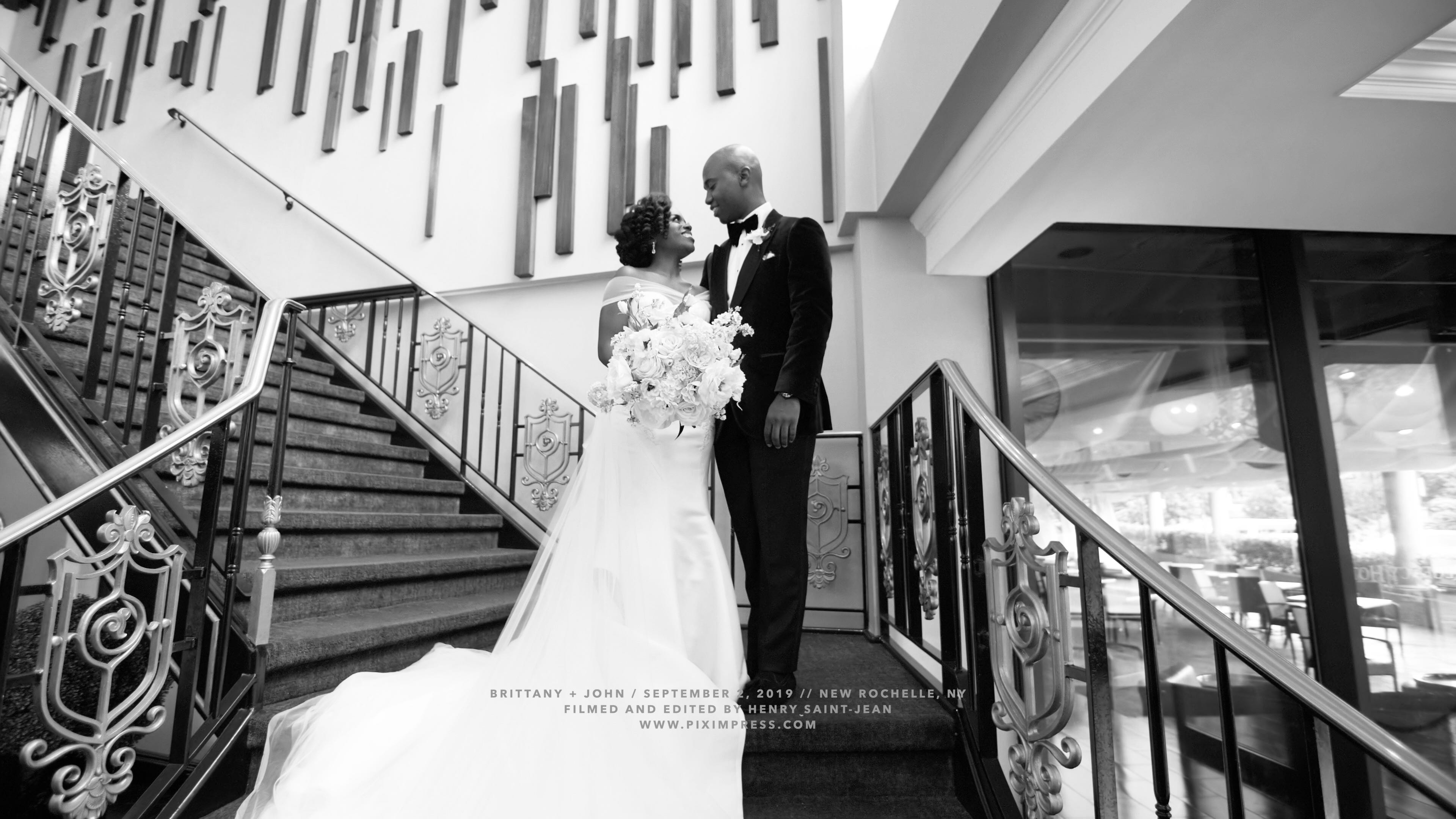 Brittany + John | New Rochelle, New York | Greentree Country Club