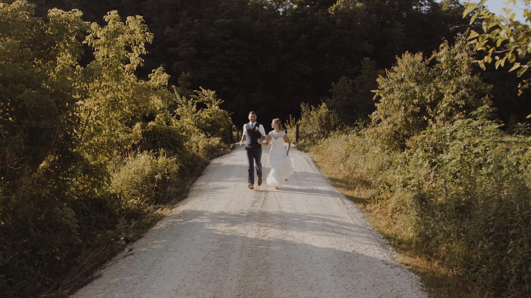 Aron + Angel | Winona, Minnesota | Cedar Creek Barn