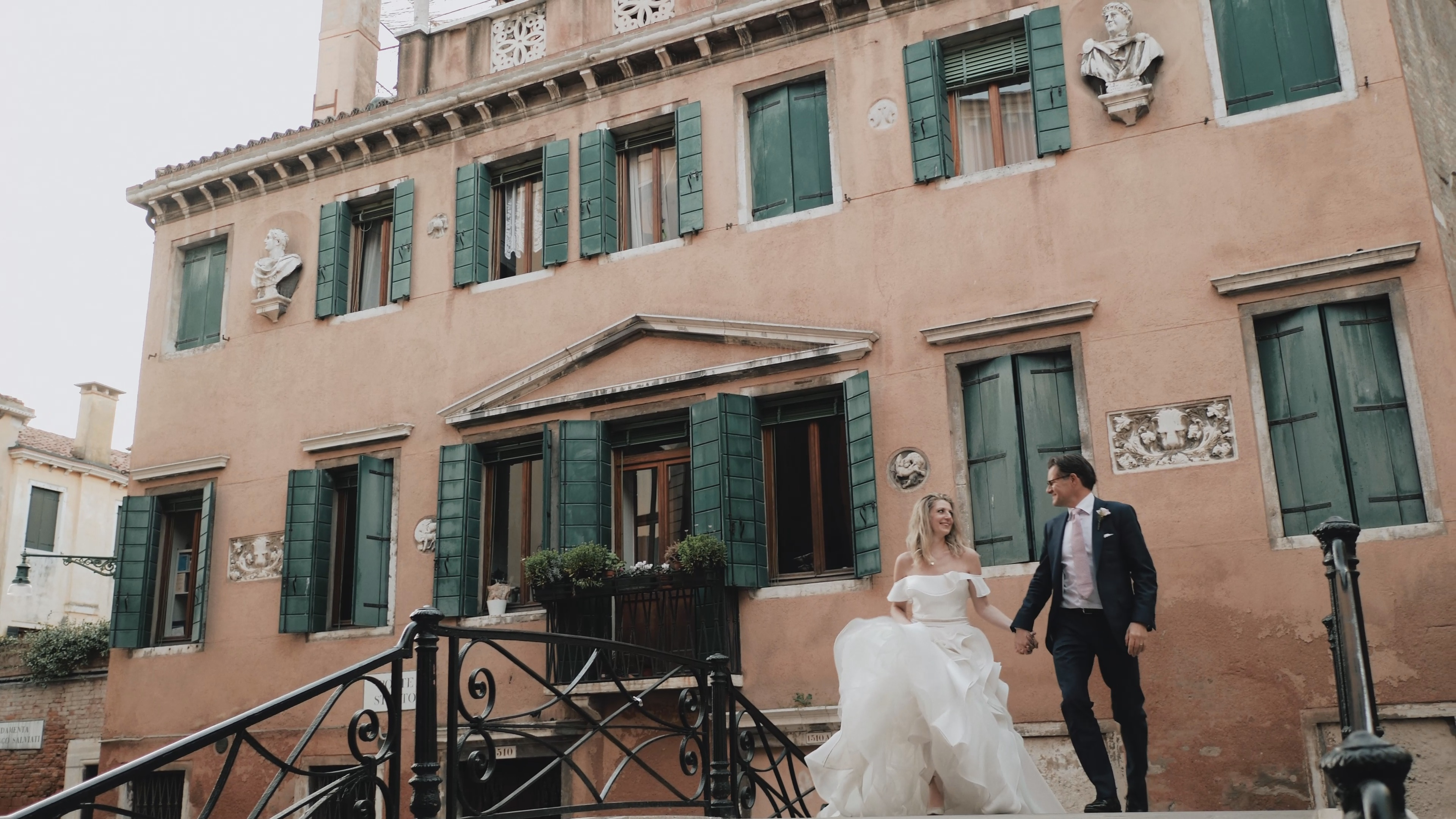 Erek + Irina | Metropolitan City of Venice, Italy | Hotel Aman