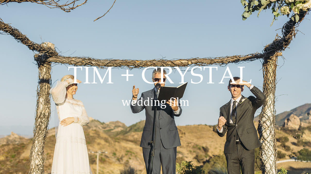 Tim + Crystal | Malibu, California | Saddlerock Ranch