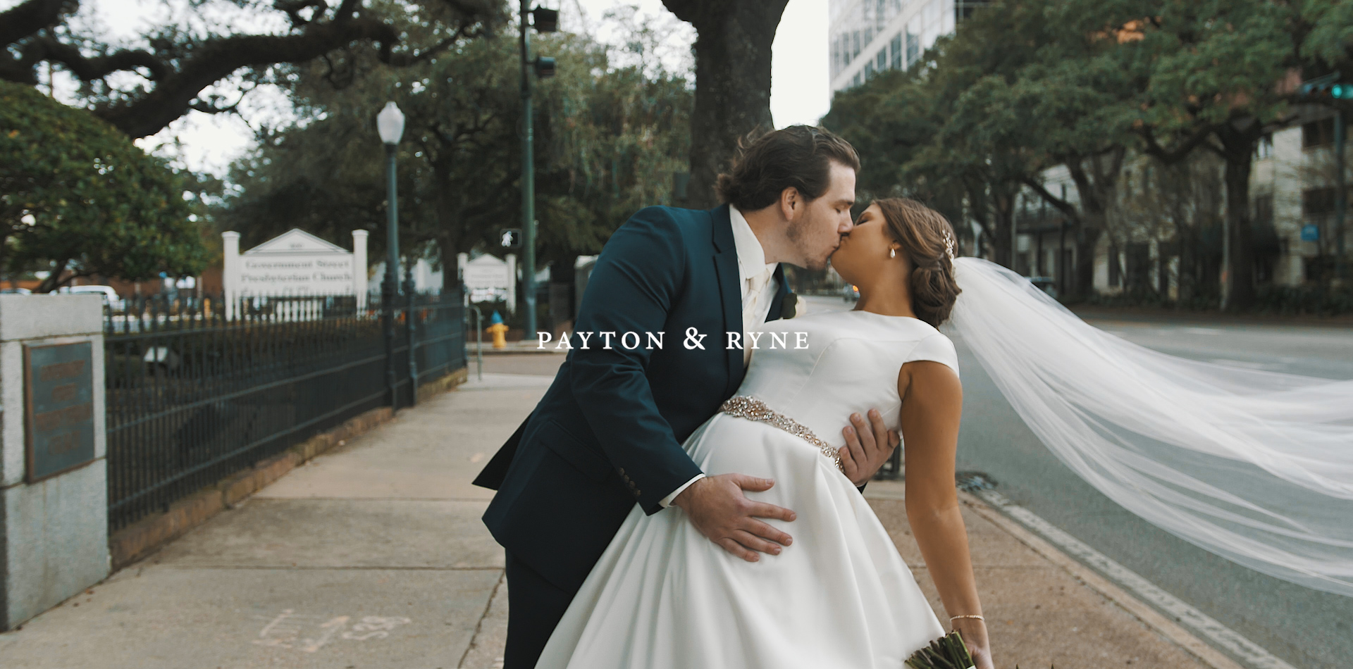 Payton + Ryne | Mobile, Alabama | Azalea Manor