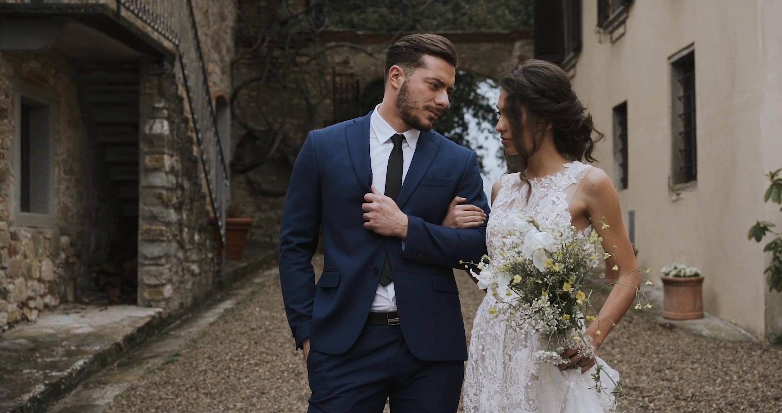 Arianna + Lorenzo | Tuscany, Italy | Montelucci