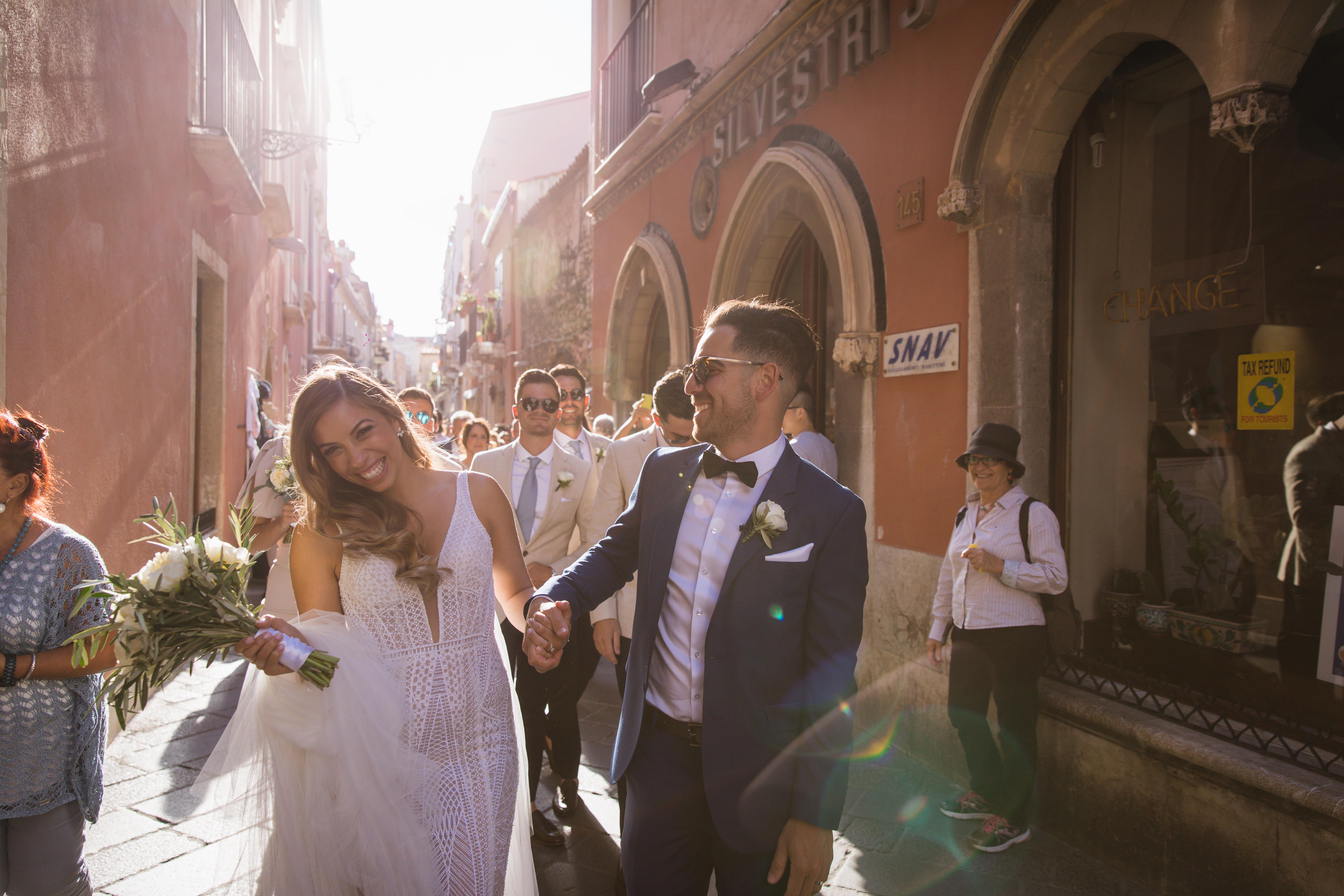Deanna + Nic | Taormina, Italy | hotel