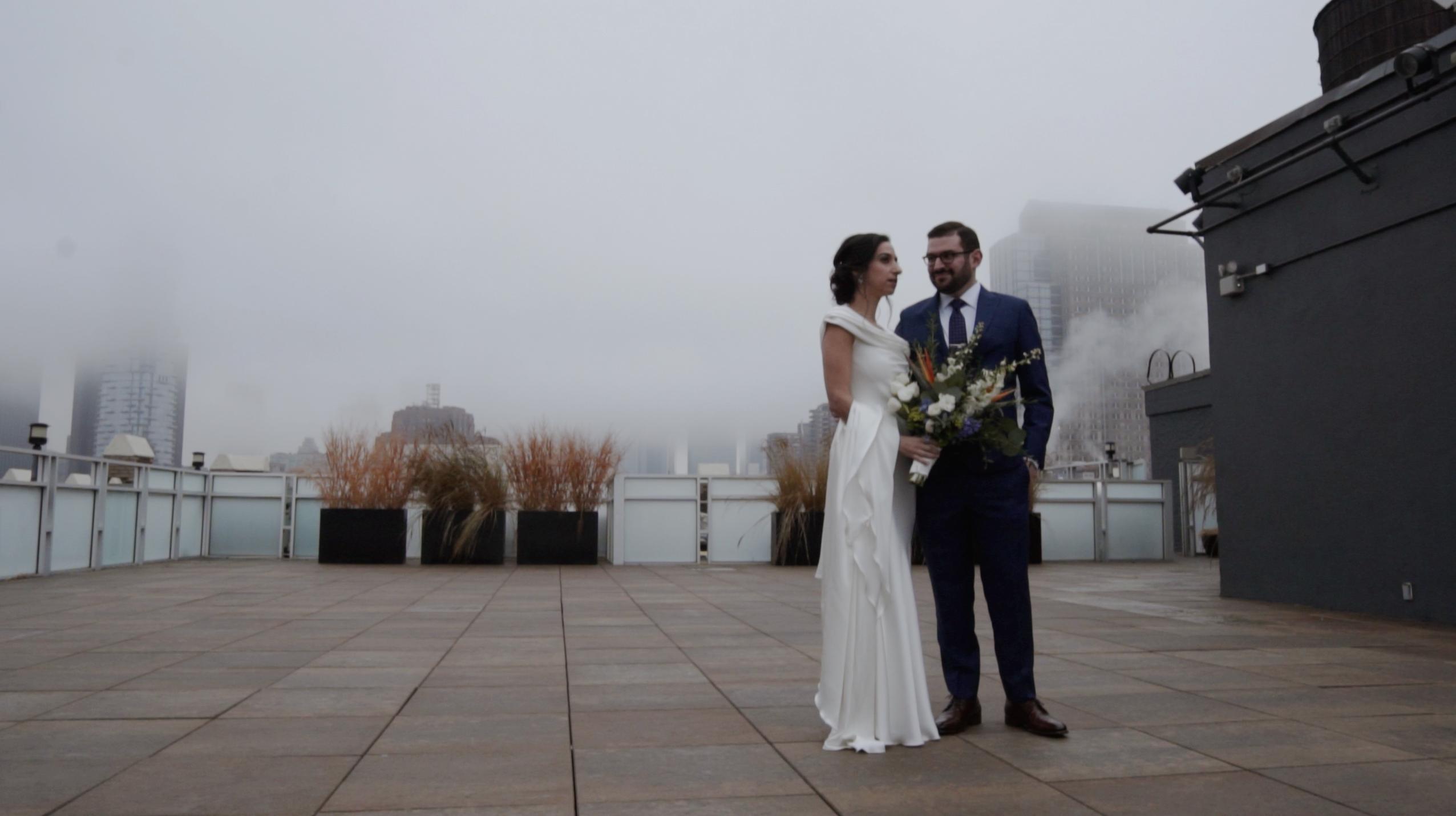 Rena + Aryeh | New York, New York | Tribeca Rooftop