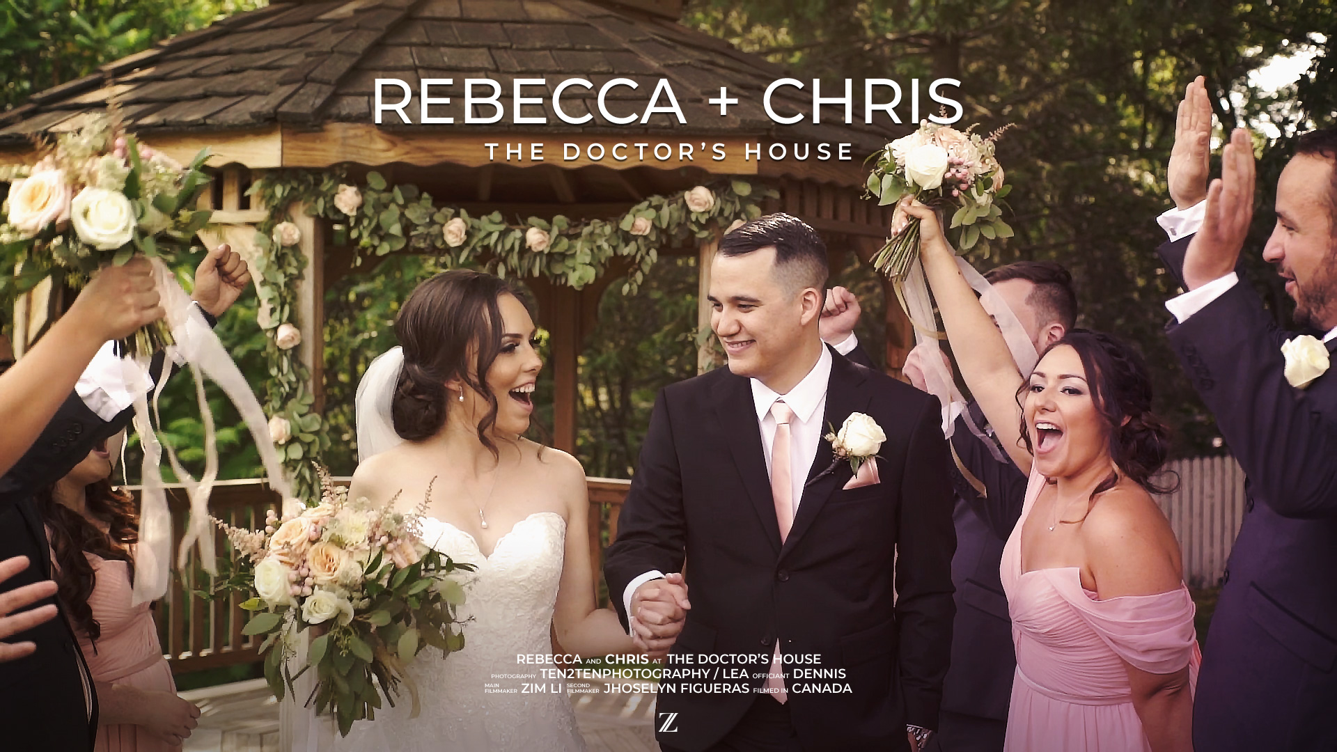 Rebecca + Chris | Vaughan, Canada | The Doctor's House