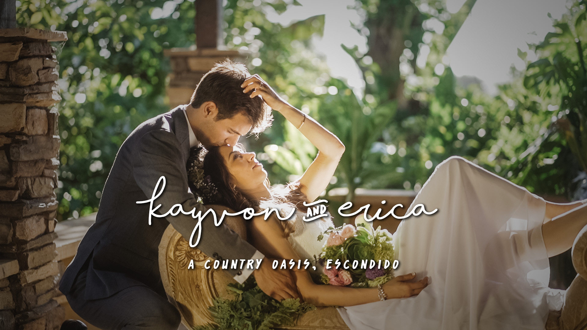 Kayvon + Erica | Escondido, California | A Country Oasis
