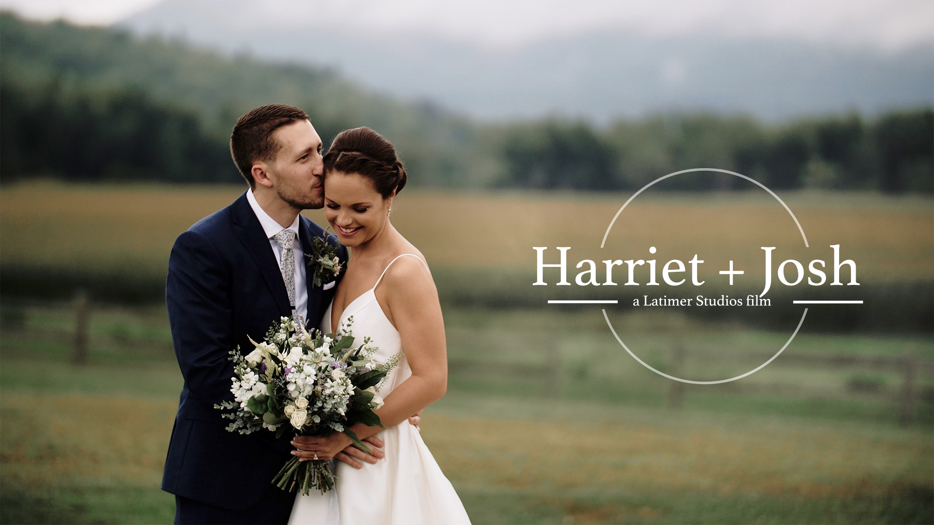 Harriet + Josh | Cambridge, Vermont | The Barn at Boyden Farm