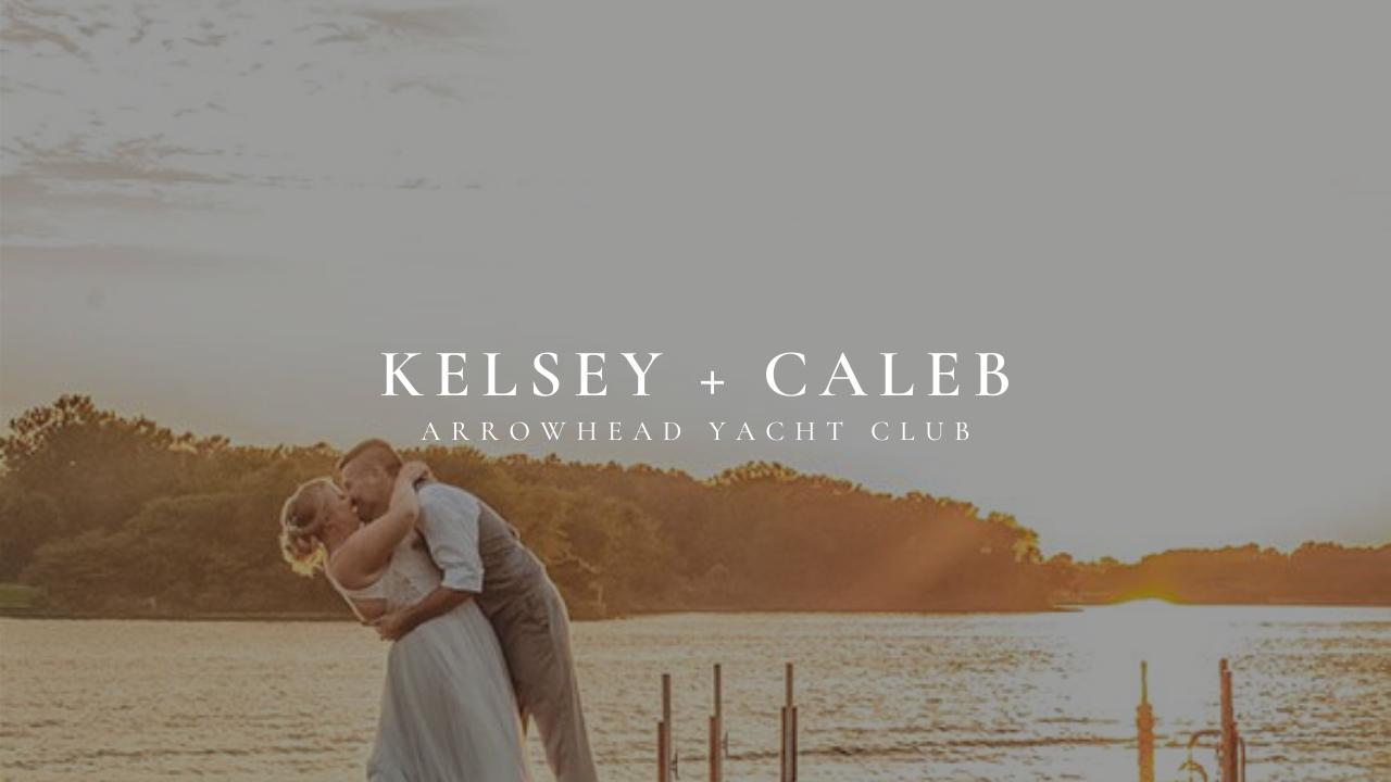 Kelsey + Caleb | Lake Winnebago, Missouri | Arrowhead Yacht Club