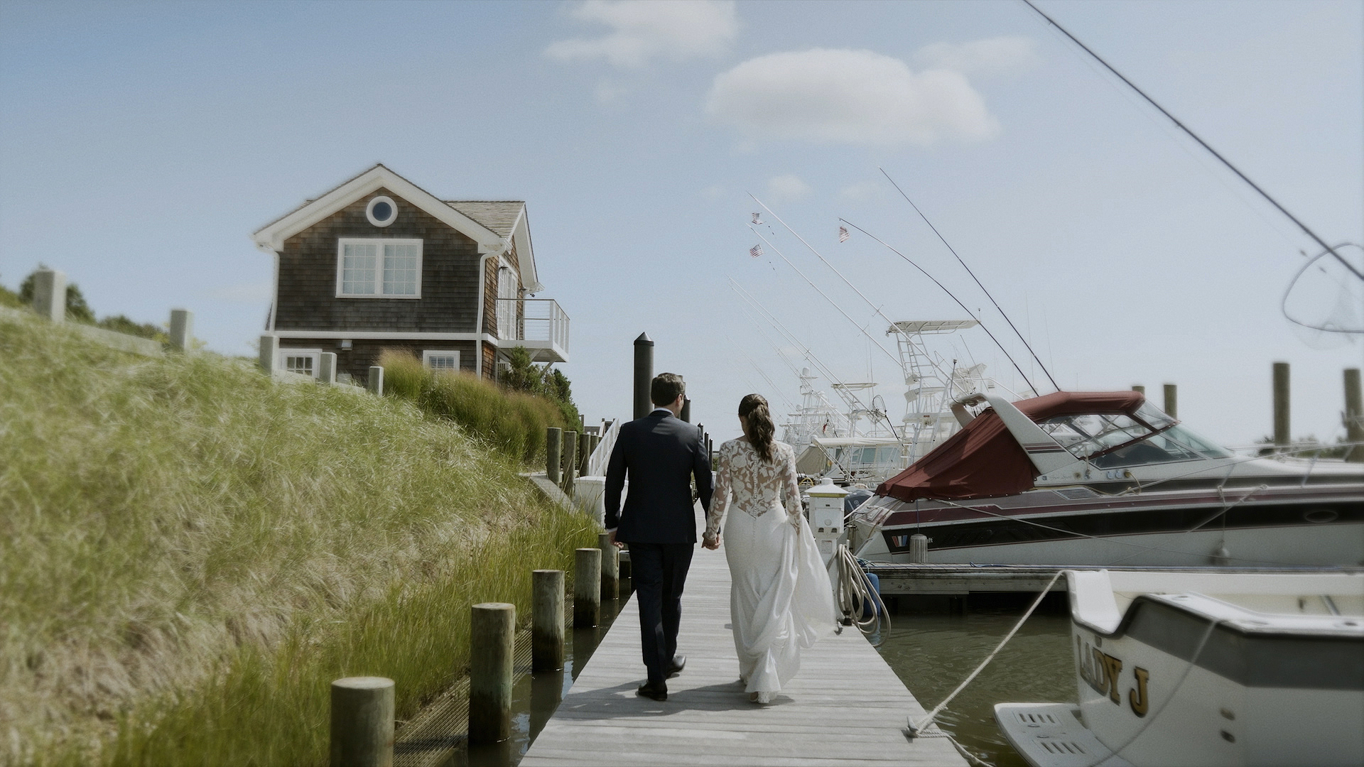 Caroline + Dan | Southold, New York | Peconic Bay Yacht Club