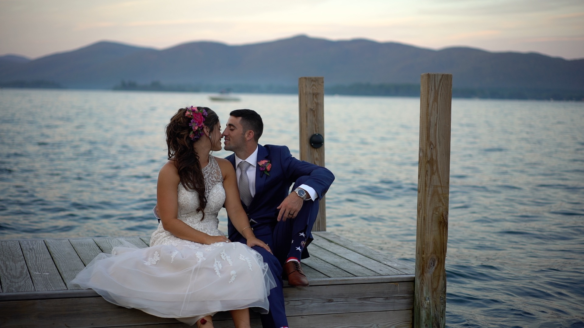 Jenna + Brian | Lake George, New York | The Inn At Erlowest