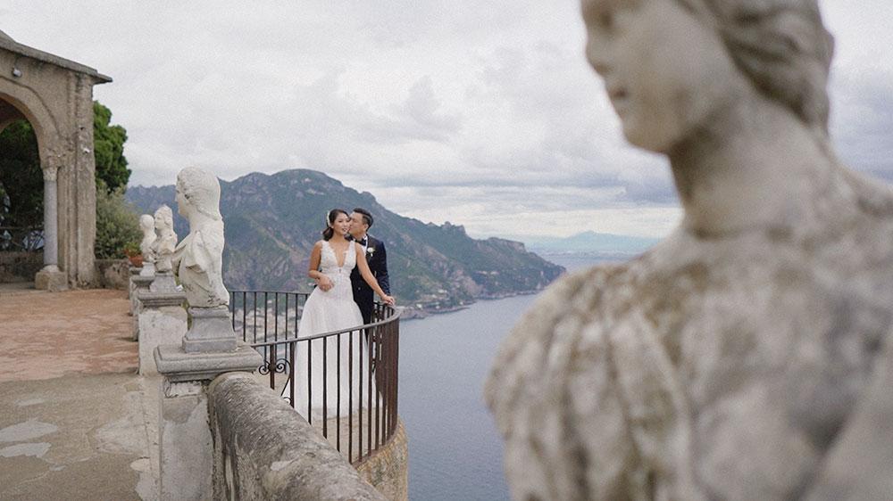 Rachel + Jim | Ravello, Italy | Villa Cimbrone
