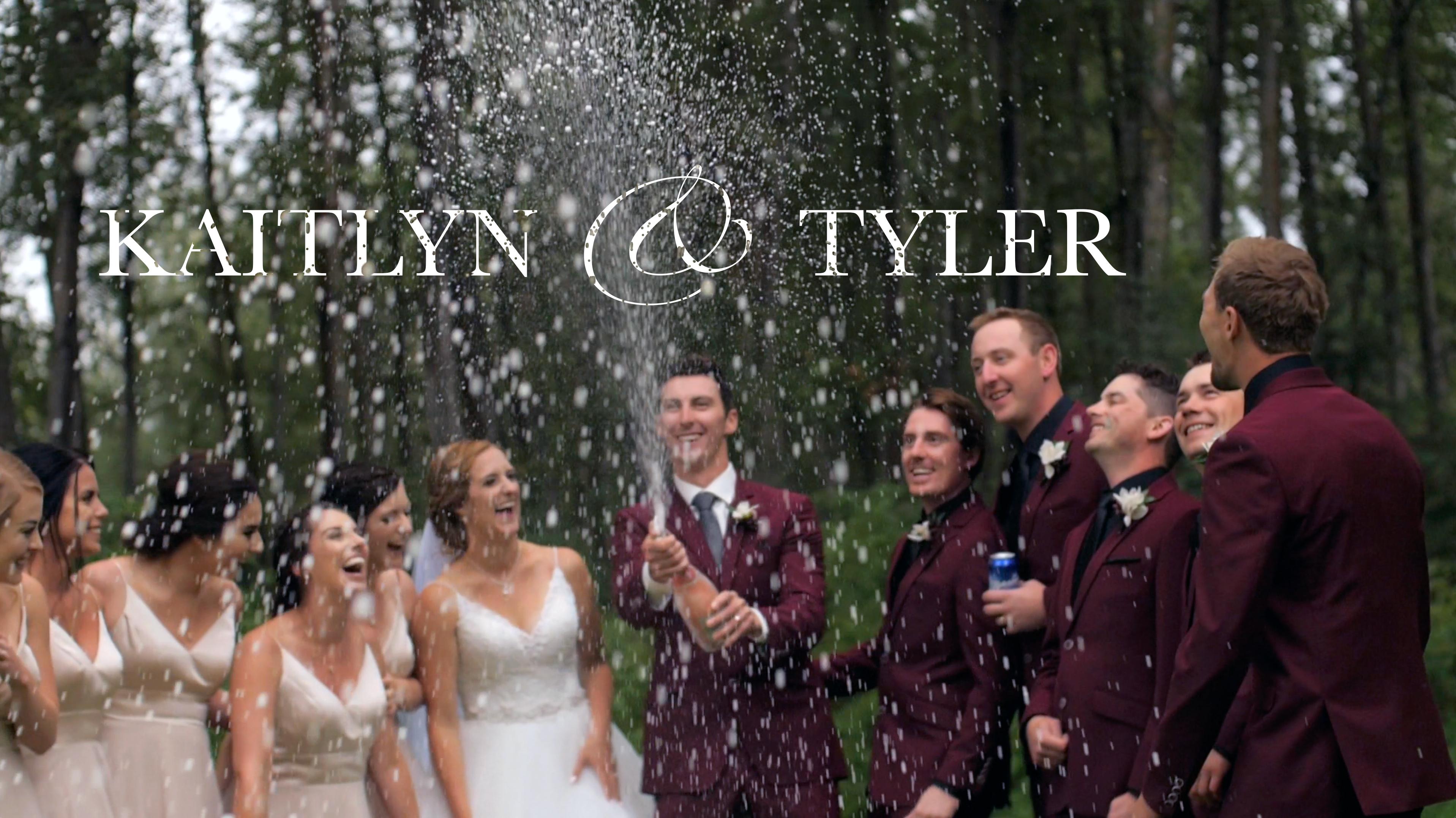 Kaitlyn + Tyler   Rycroft, Canada   Agricultural Centre