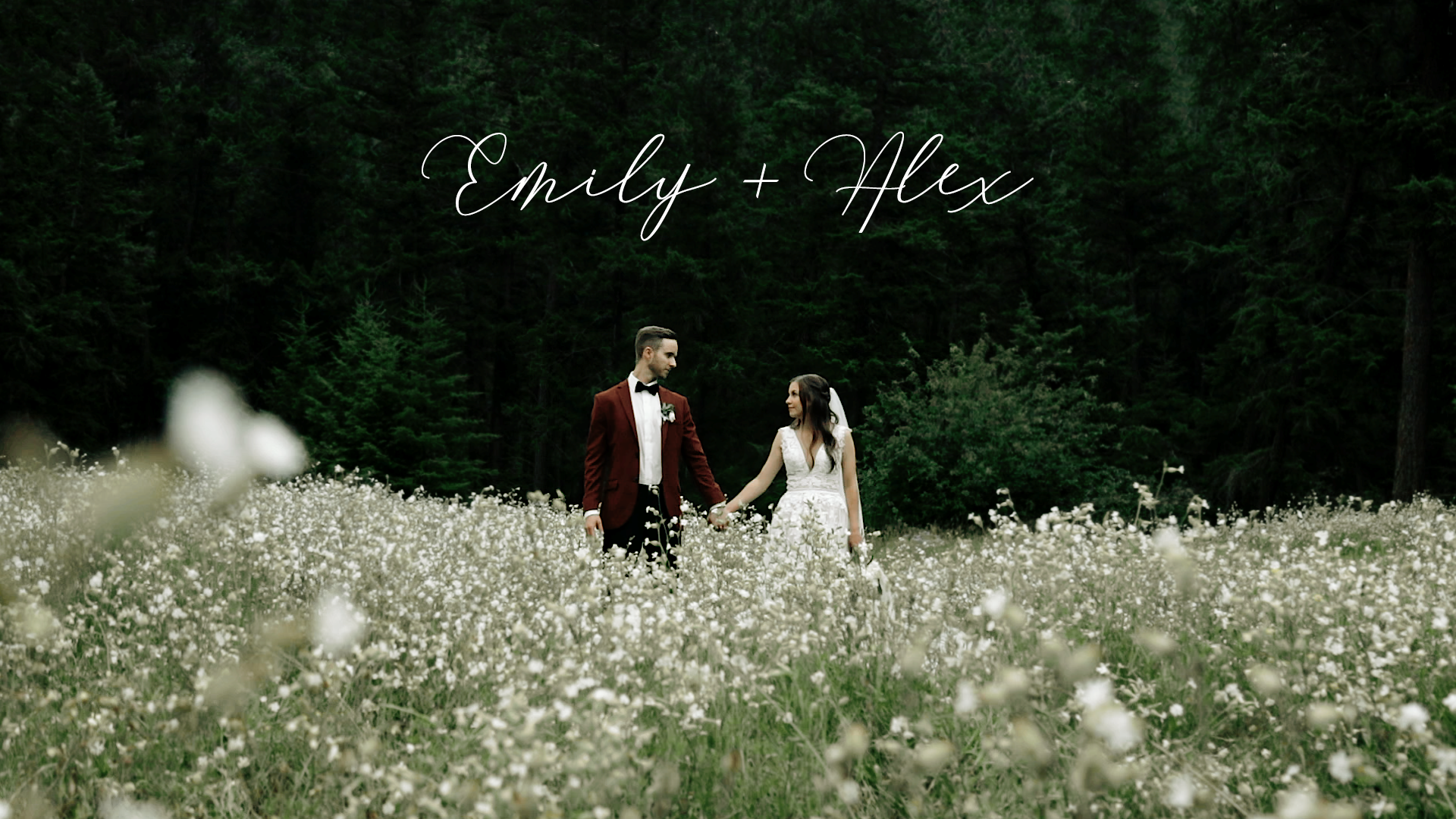 Emily + Alex | Kamloops, Canada | Backyard