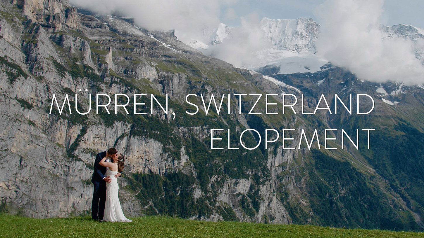 Jessica + Anthony | Lauterbrunnen, Switzerland | the Swiss Alps