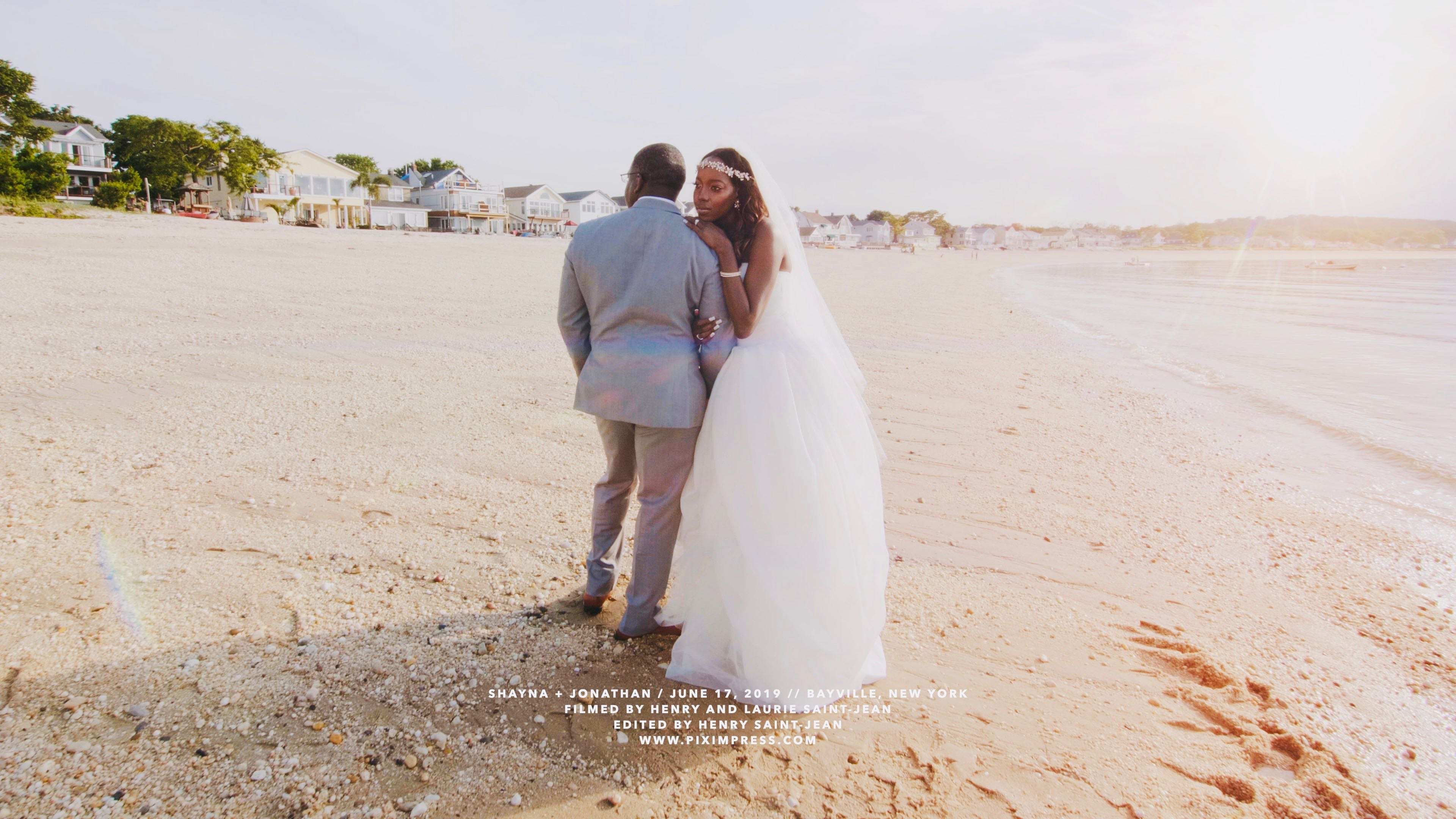 Shayna + Jonathan | Bayville, New York | The Crescent Beach