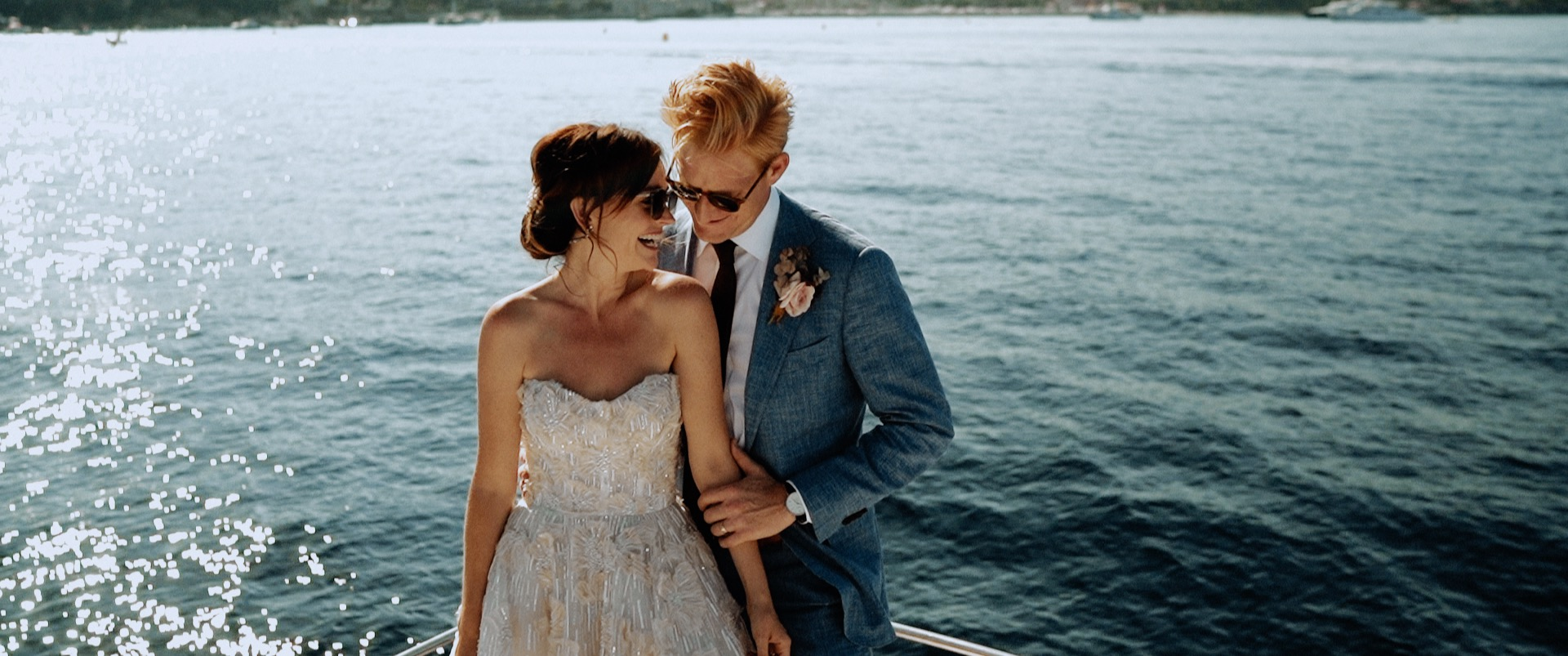 Hilary + Jeremy | Nice, France | Grand Hotel du Cap-Ferrat