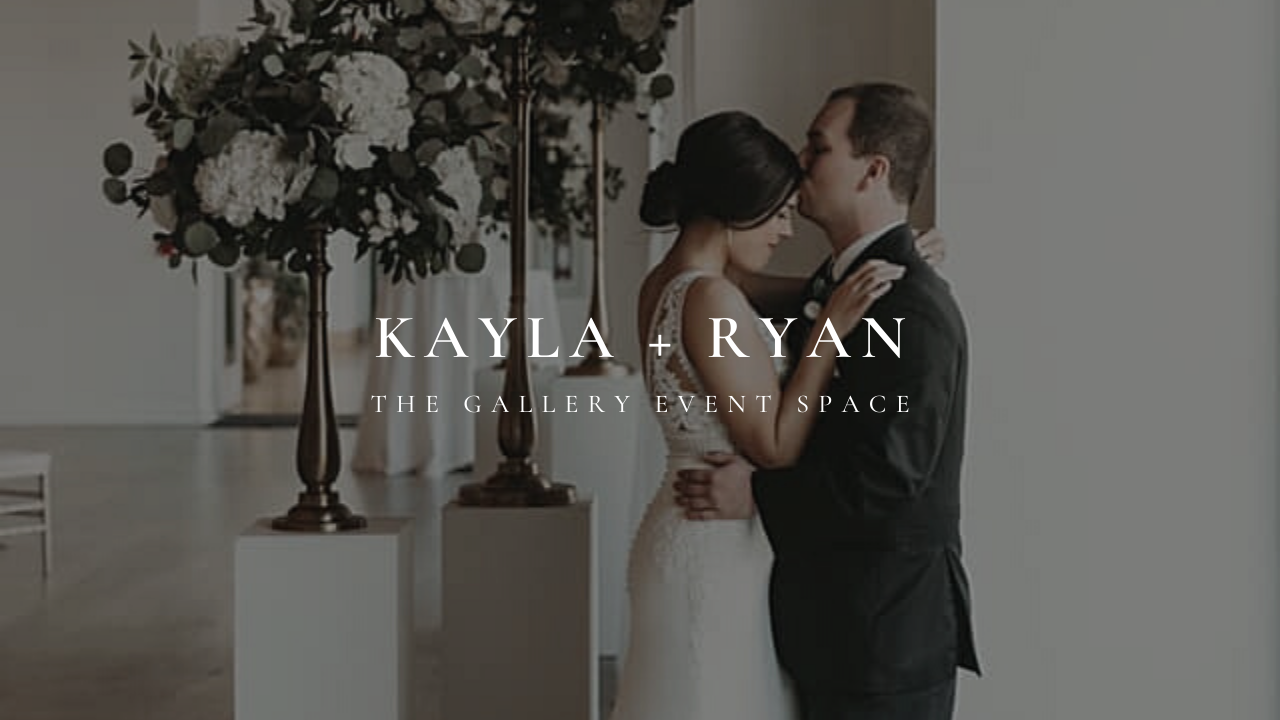 Kayla + Ryan | Kansas City, Missouri | the gallery event space