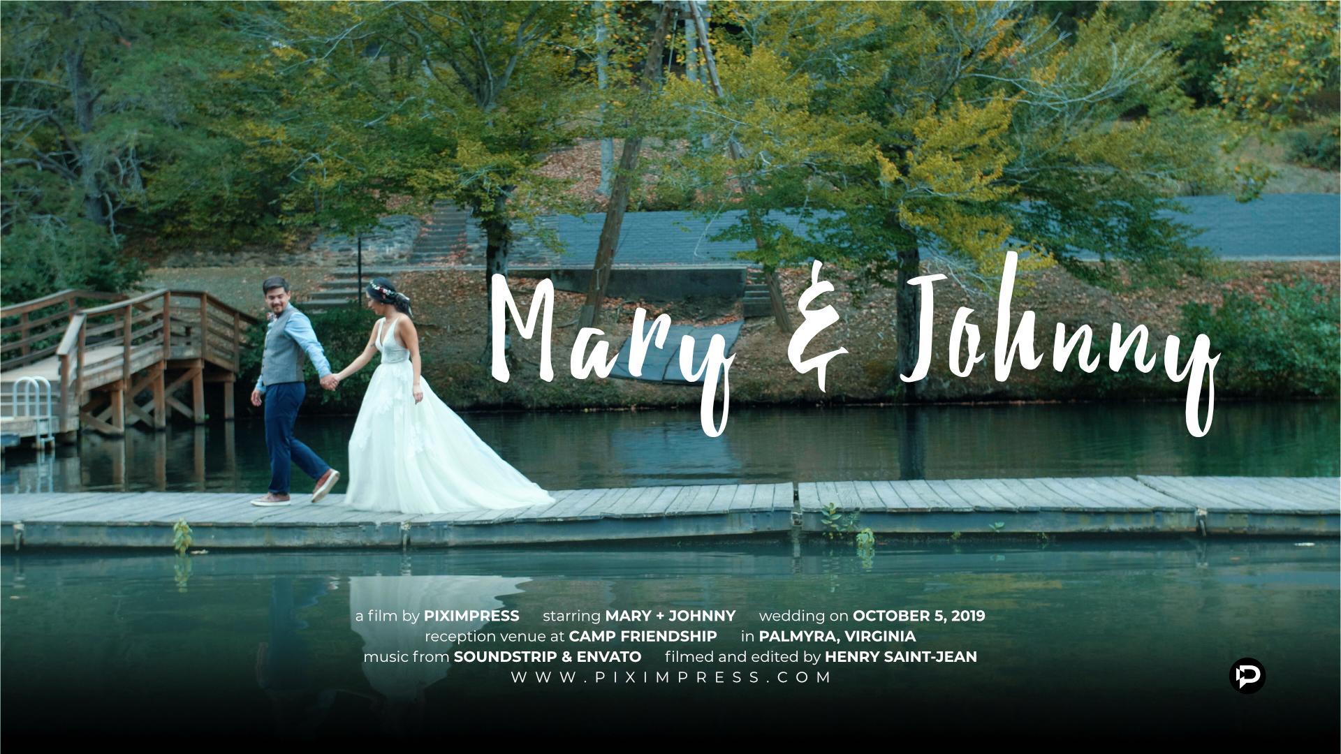 Mary + Johnny | Palmyra, Virginia | Camp Friendship