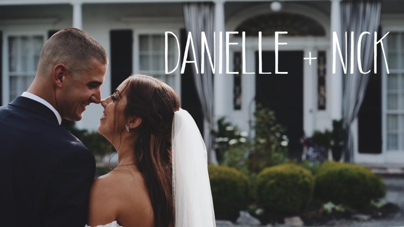 Danielle + Nick | Bristol, Rhode Island | Linden Place
