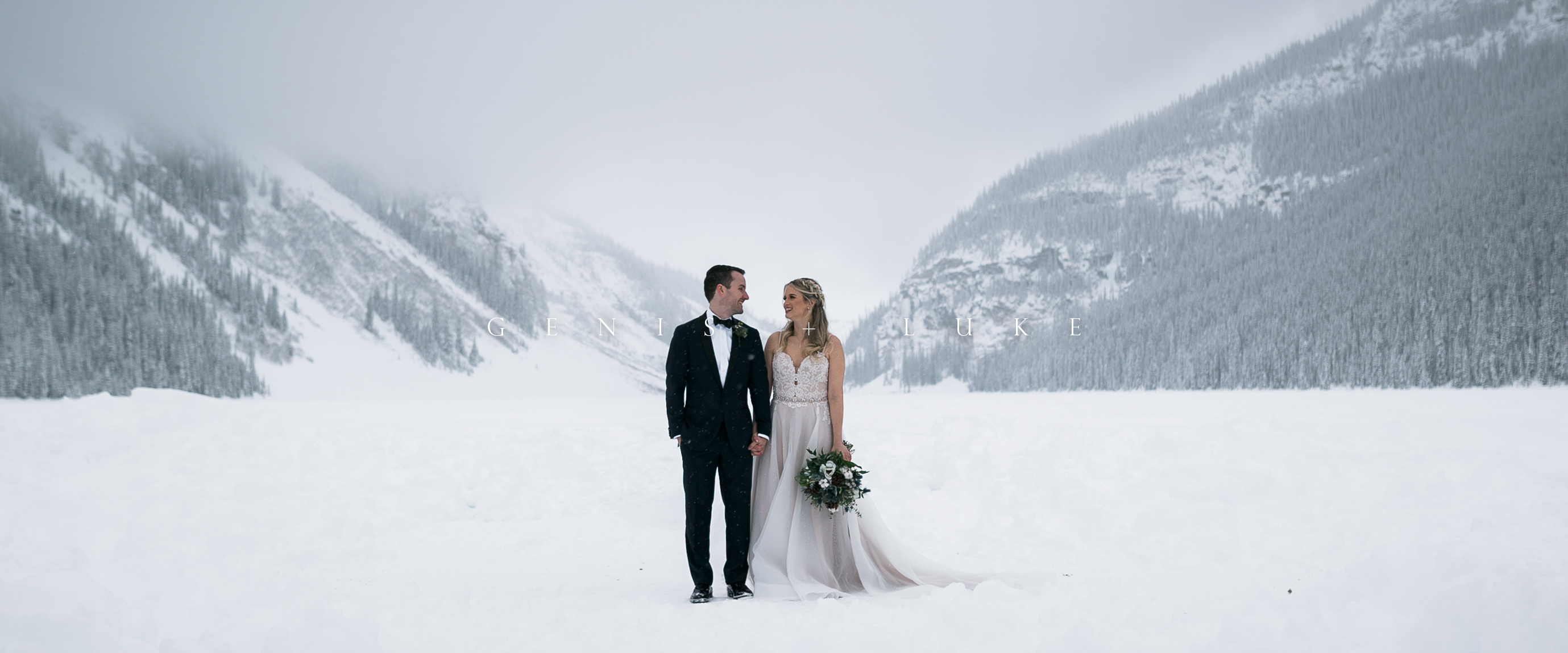 Genis + Luke | Lake Louise, Canada | fairmont chateau lake louise