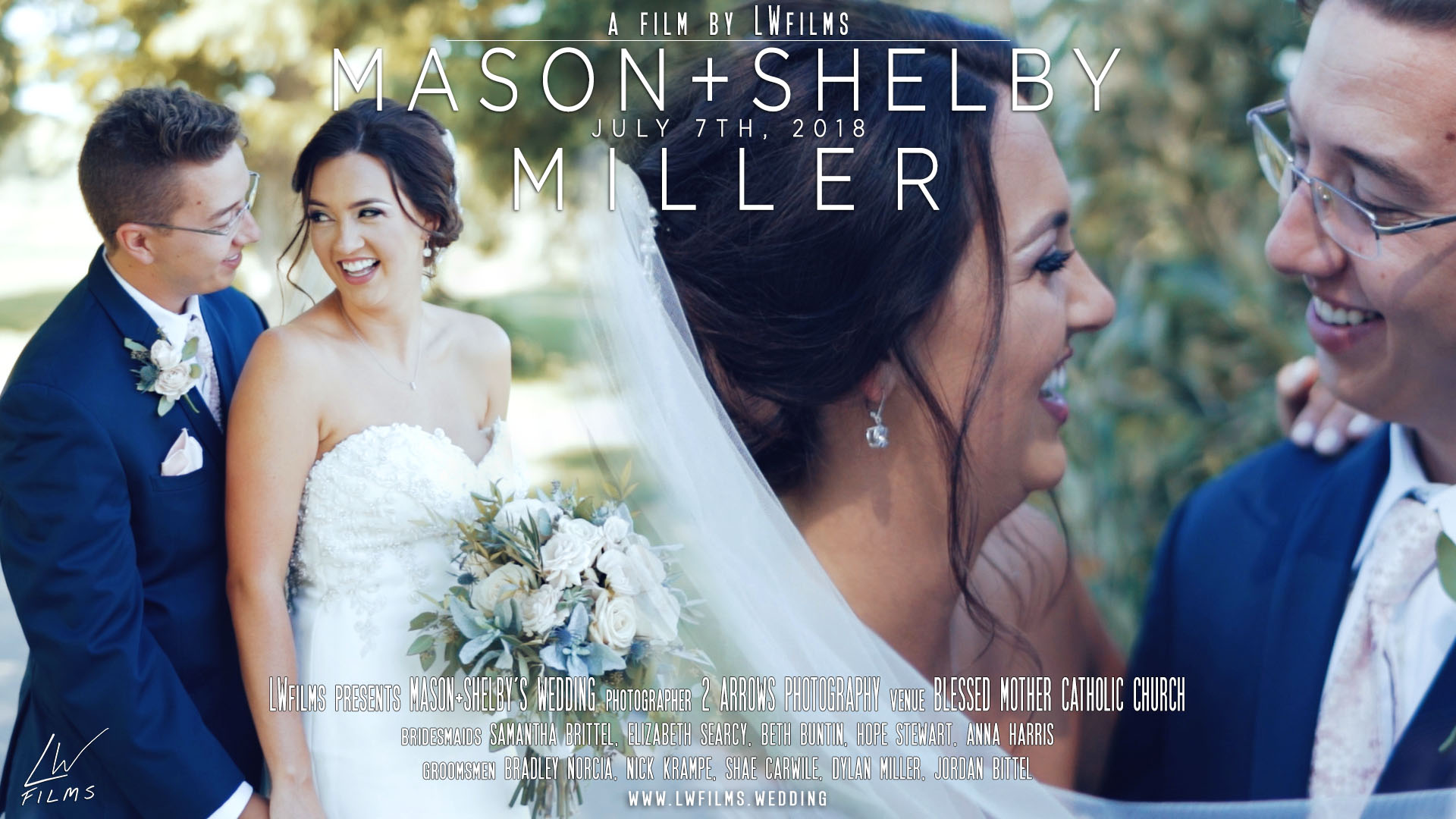Mason Miller + Shelby Carwile | Owensboro, Kentucky | Blessed Mother Catholic Church