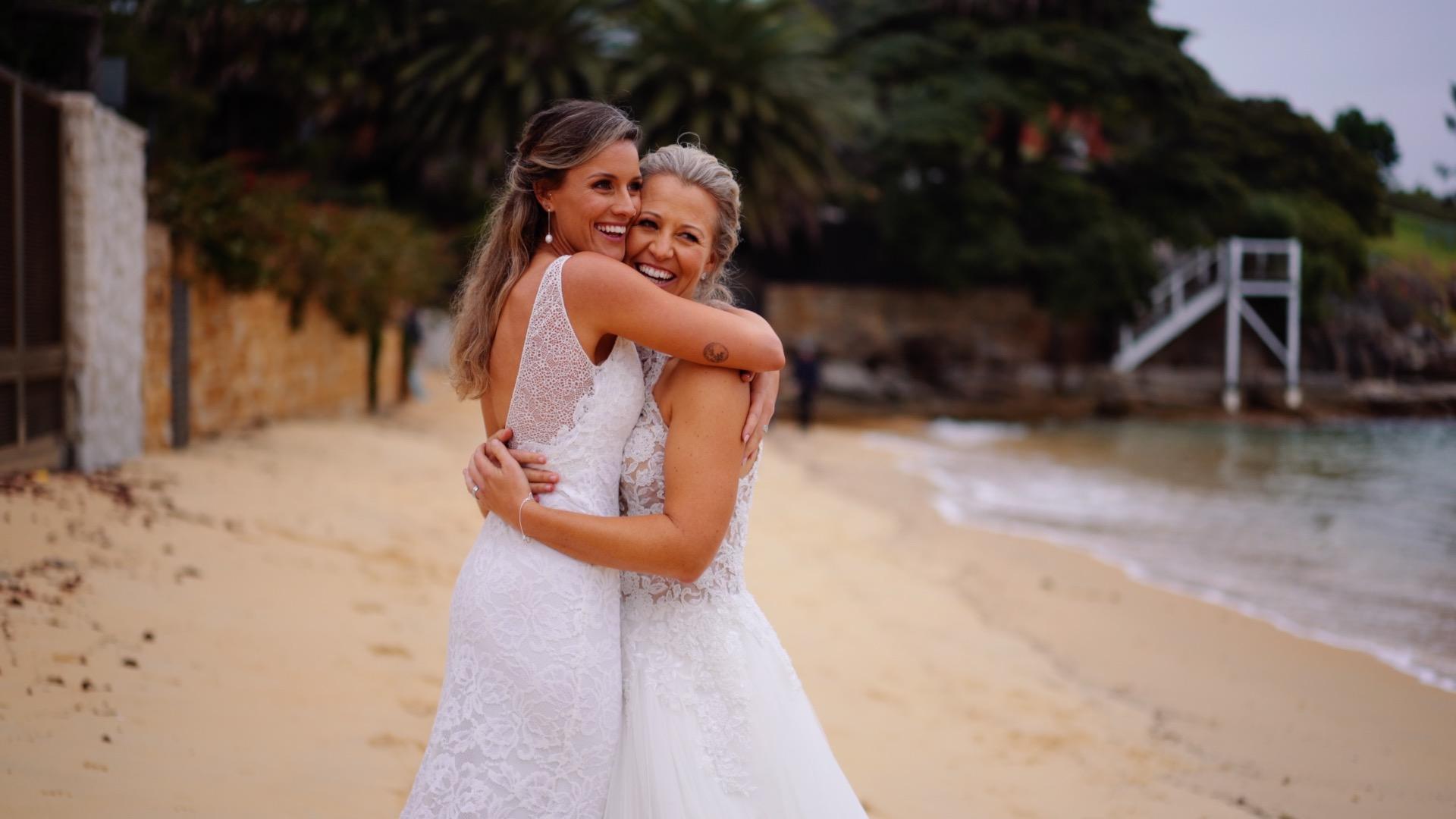 Melissa + Michaela | Watsons Bay, Australia | Green Point Reserve