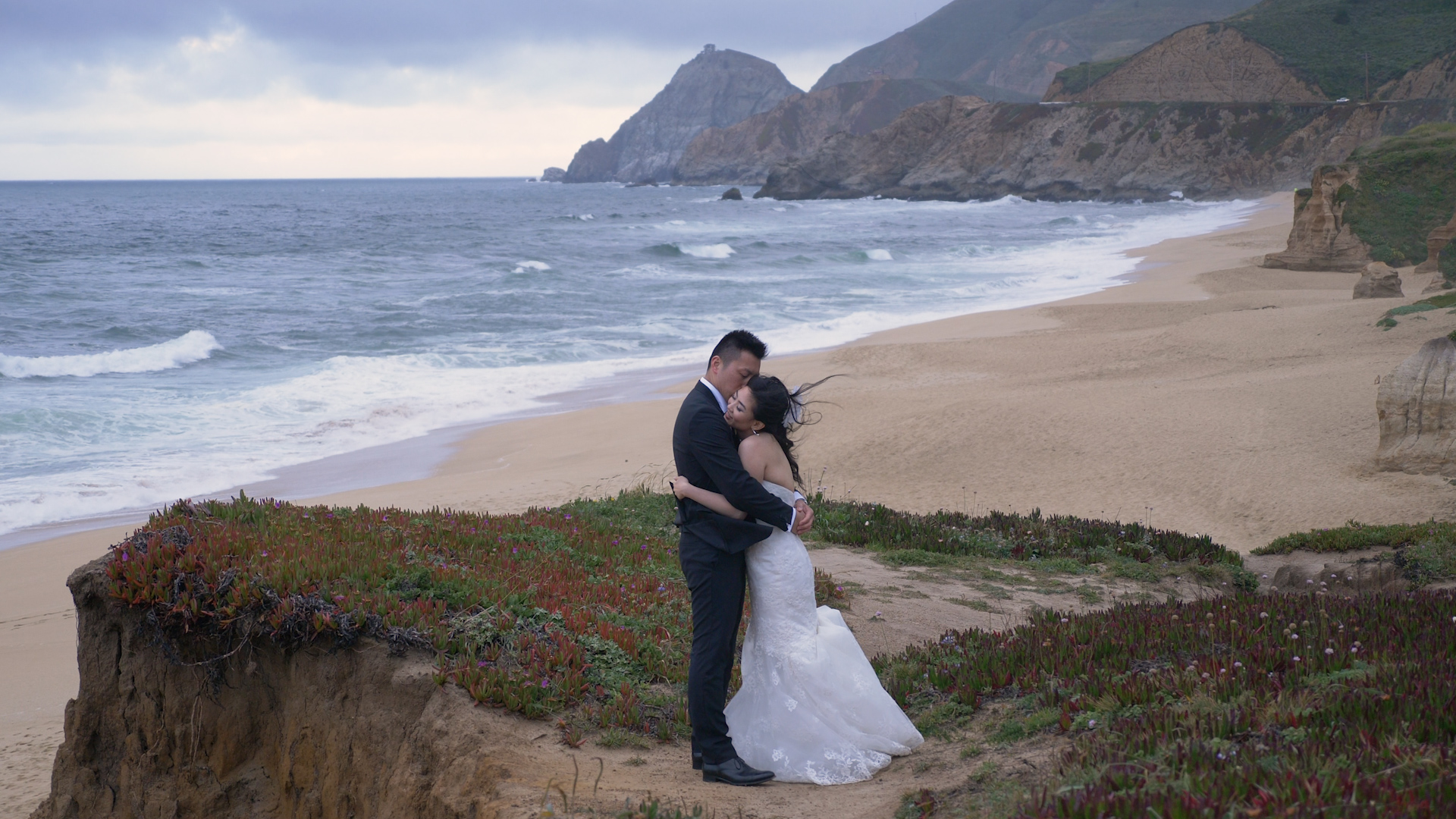 Amy + Trevor | Half Moon Bay, California | Oceano Hotel and Spa