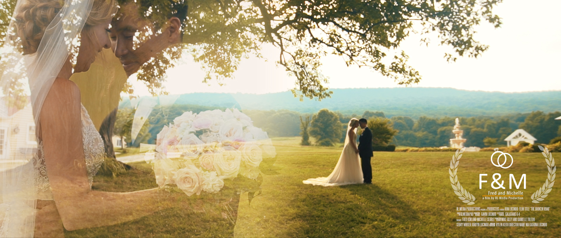 Fred + Michelle   Thurmont, Maryland   springfield manor winery